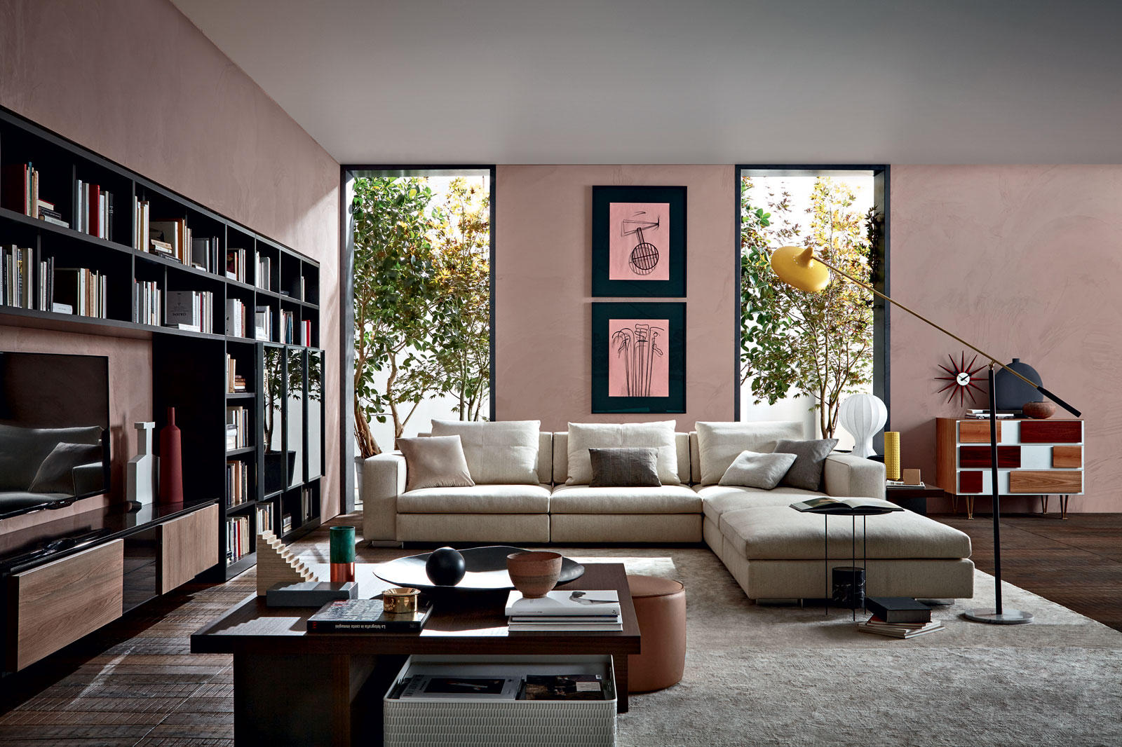 505 multimedia multimedia sideboards from molteni c. Black Bedroom Furniture Sets. Home Design Ideas