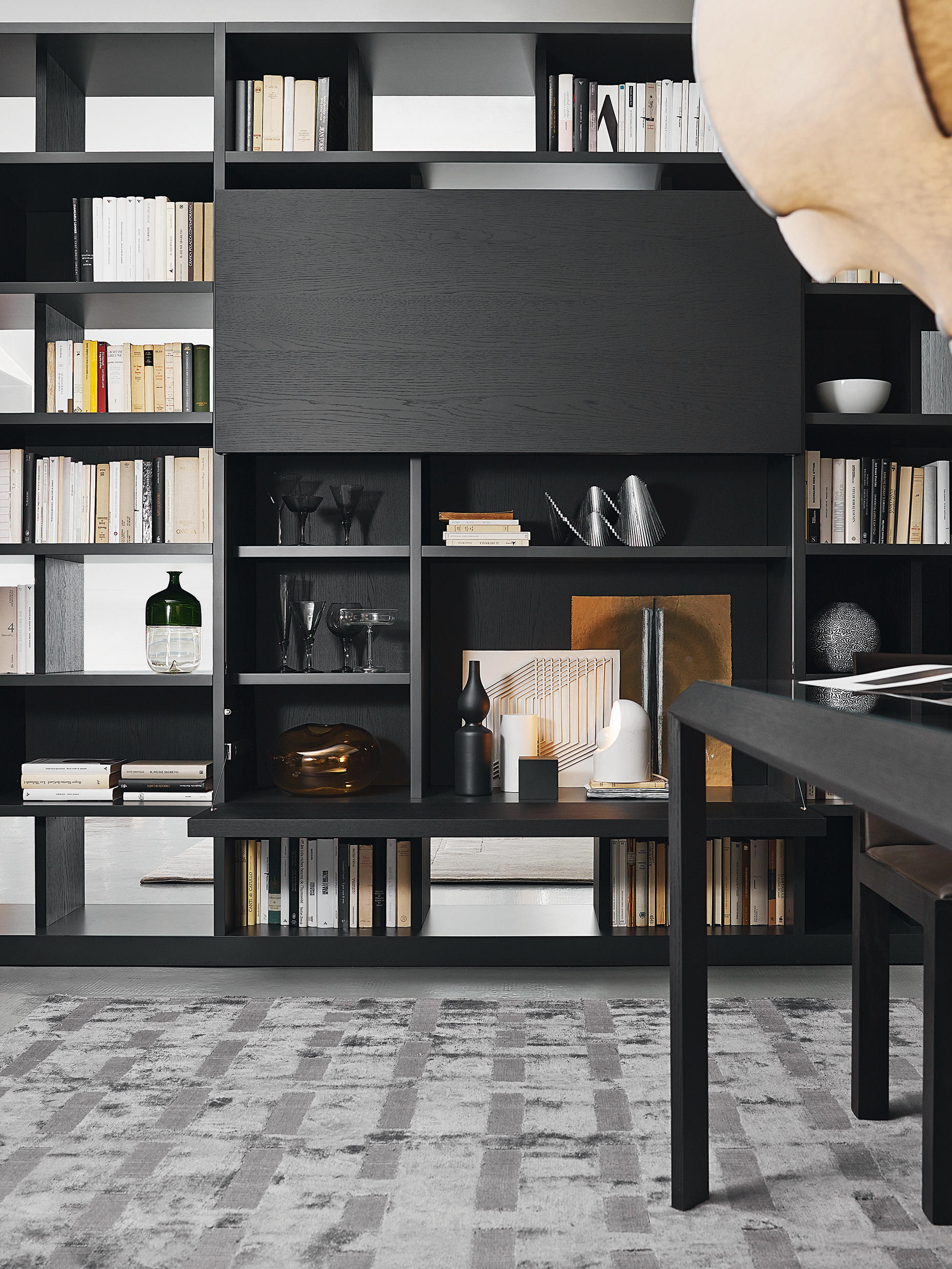 505 office sistemas de estanter a de molteni c. Black Bedroom Furniture Sets. Home Design Ideas