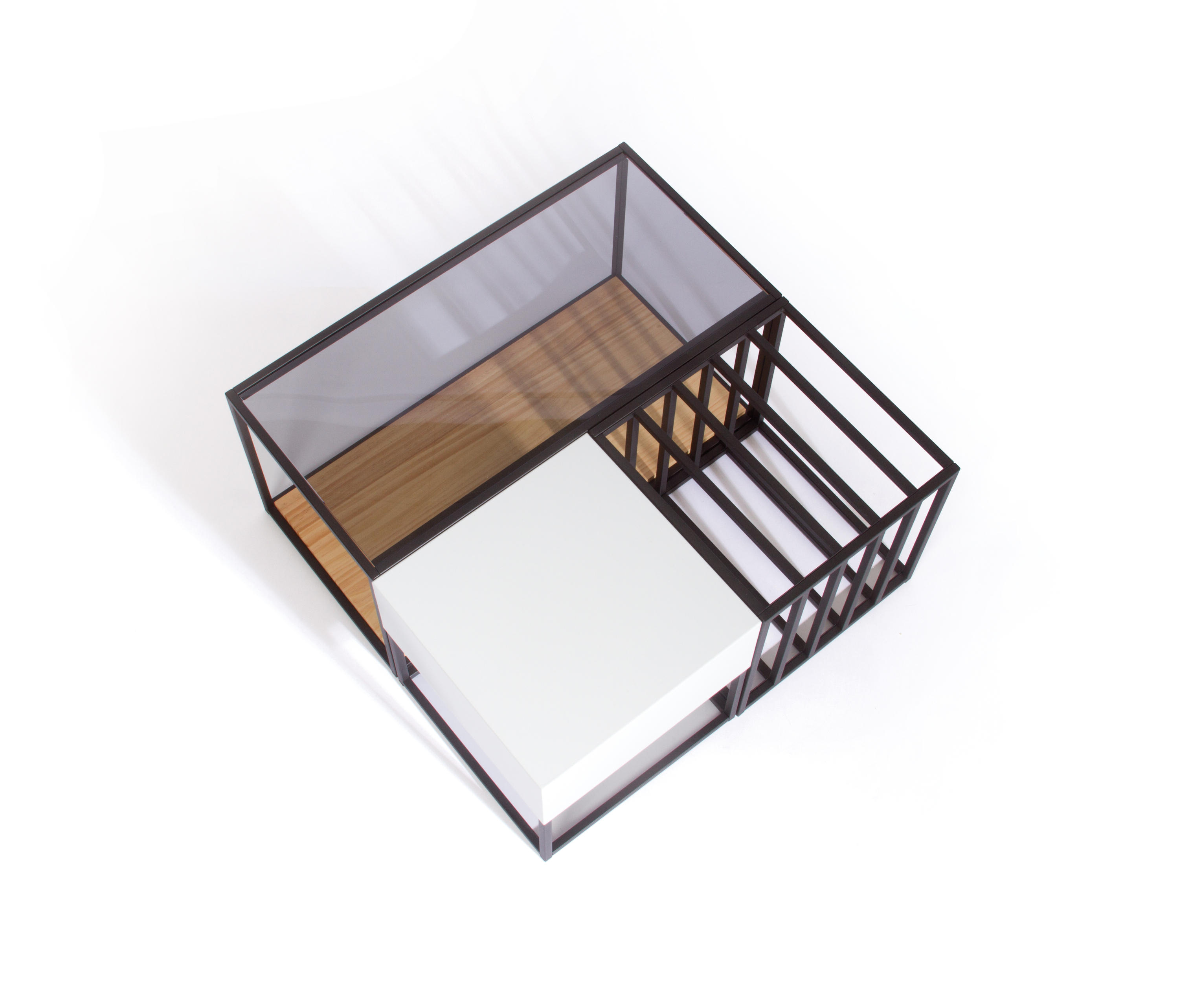 SPACE FRAME TABLE SET - Coffee tables from Sauder Boutique | Architonic