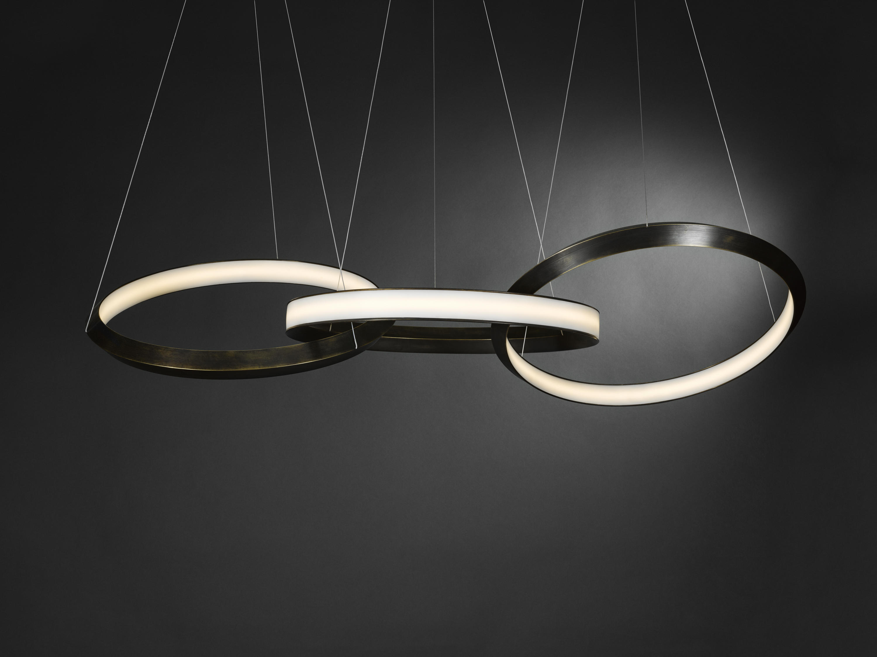 Oracle 3 Ring Suspended Lights From Christopher Boots
