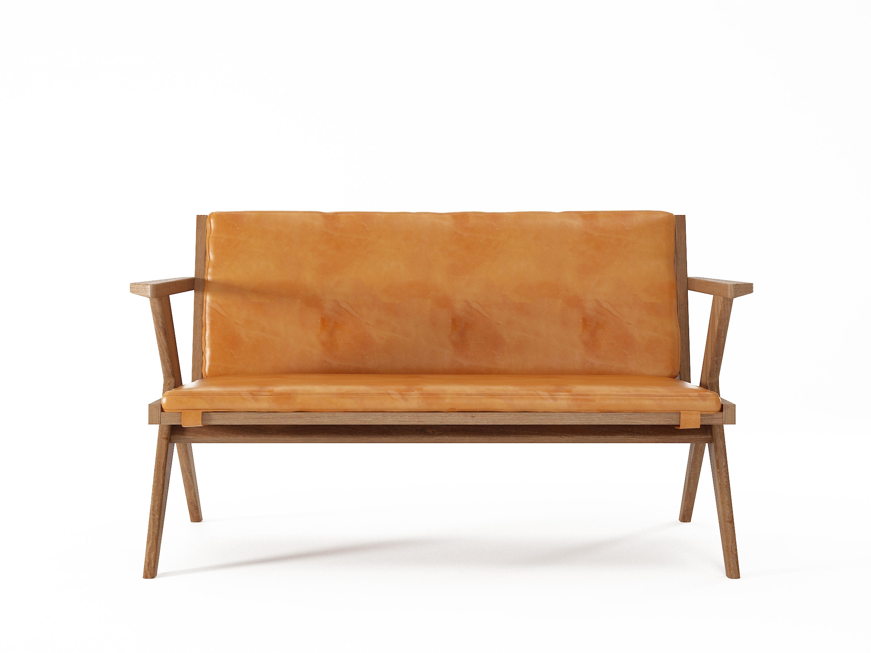 Sofa Cognac tribute sofa 2 seaters with leather cognac sofas from karpenter architonic