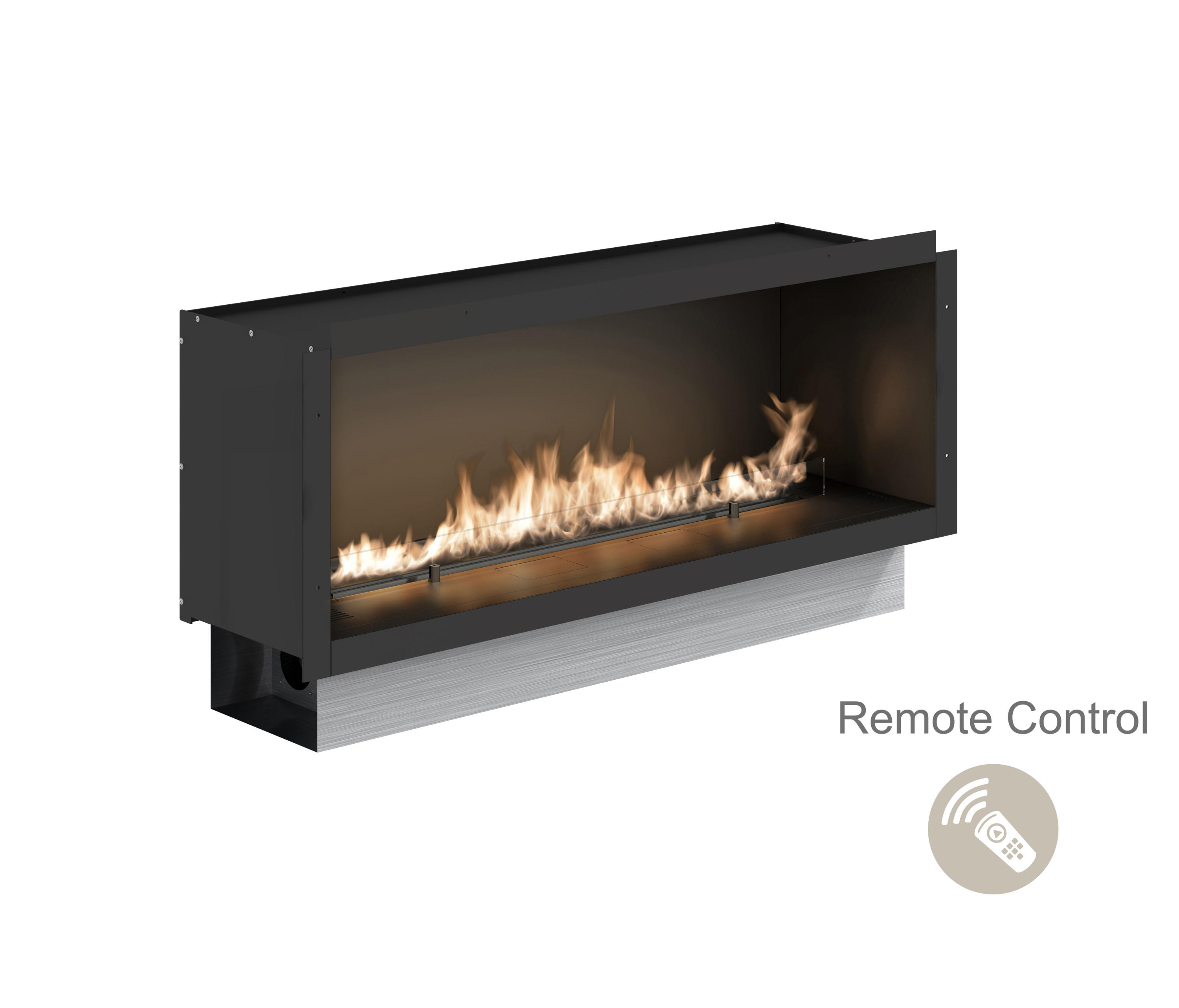 youtube display mini nice digital led peaceful homely pitch ideas fireplace living pixel video amazing design