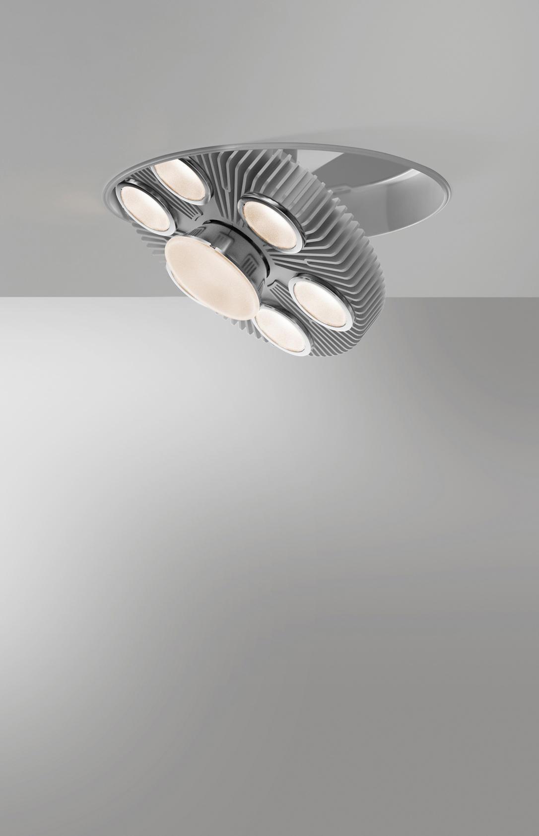 LOT REFLECTOR CEILING RECESSED - Spotlights from Artemide ...