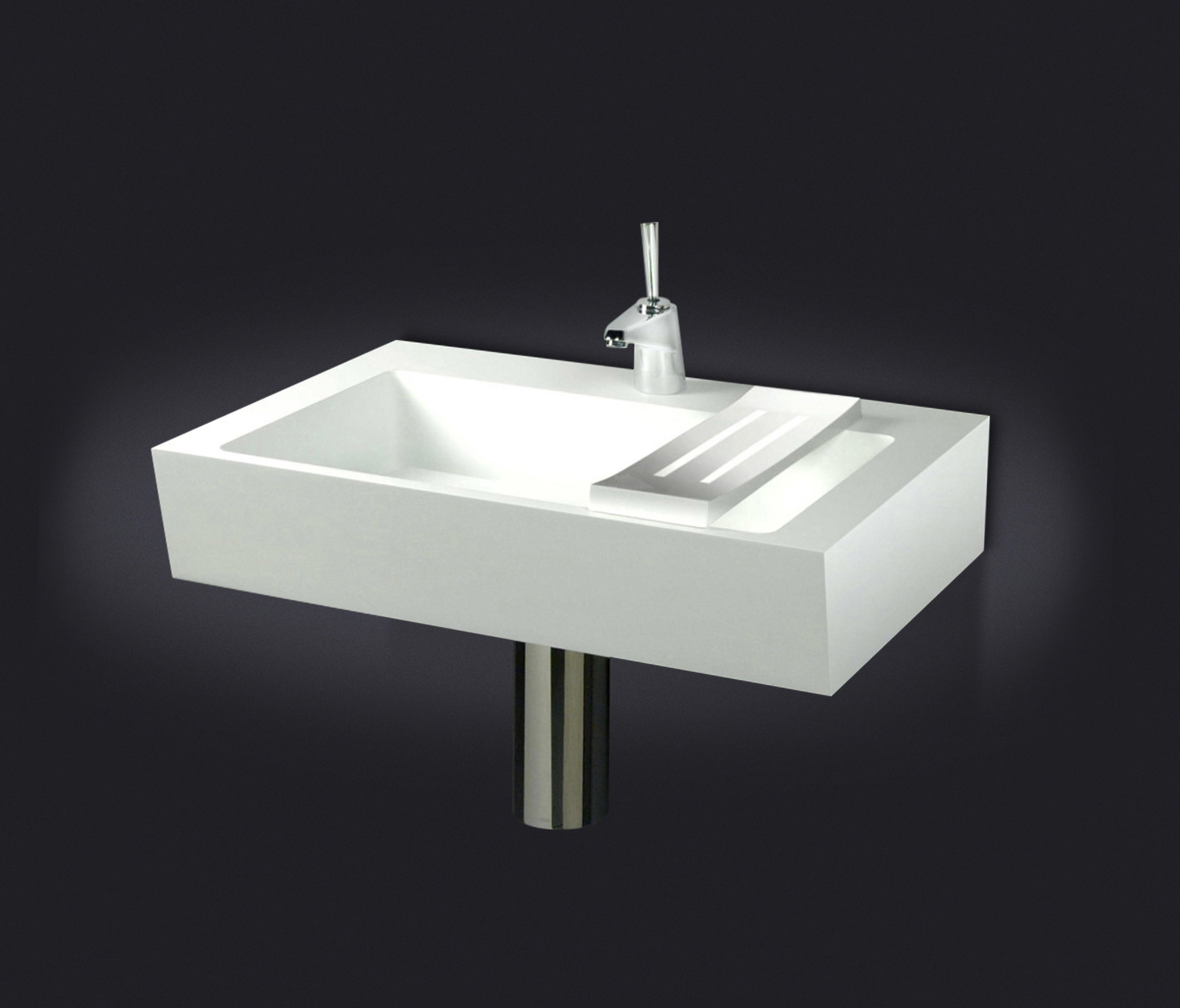 Good Plano Inclinado Wall Mounted Washbasin by Vallv Wash basins