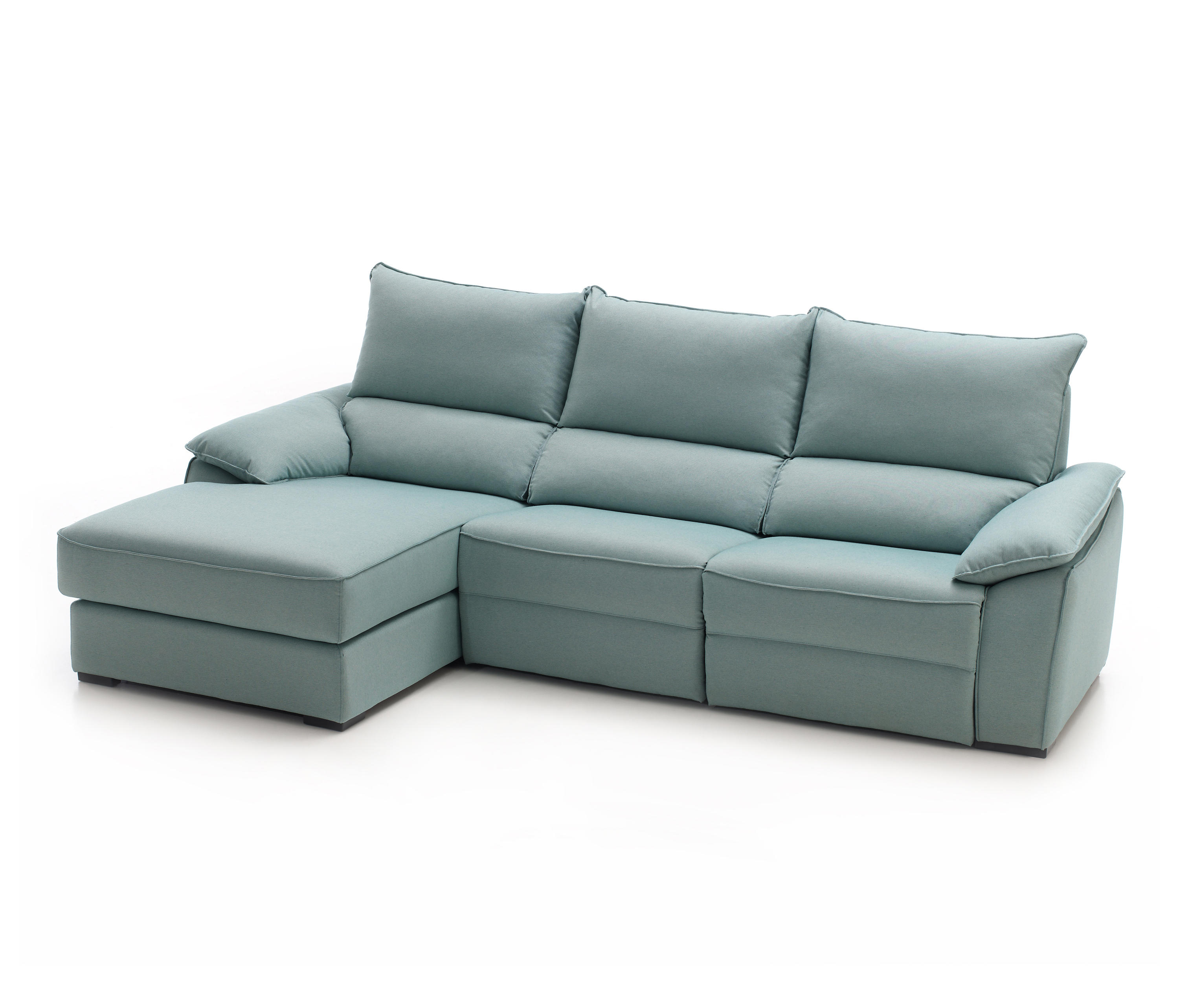 Groe sofas u form elegant in schoko mit hocker als l oder u form with groe sofas u form great Big sofa hocker