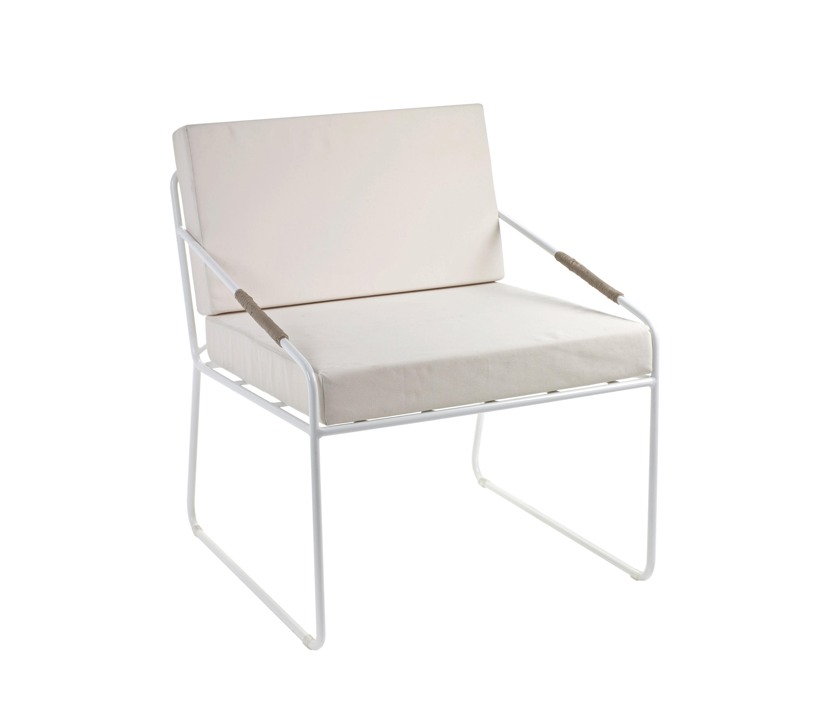 Colonel Seat And Cushion White By Serax | Garden Armchairs ...
