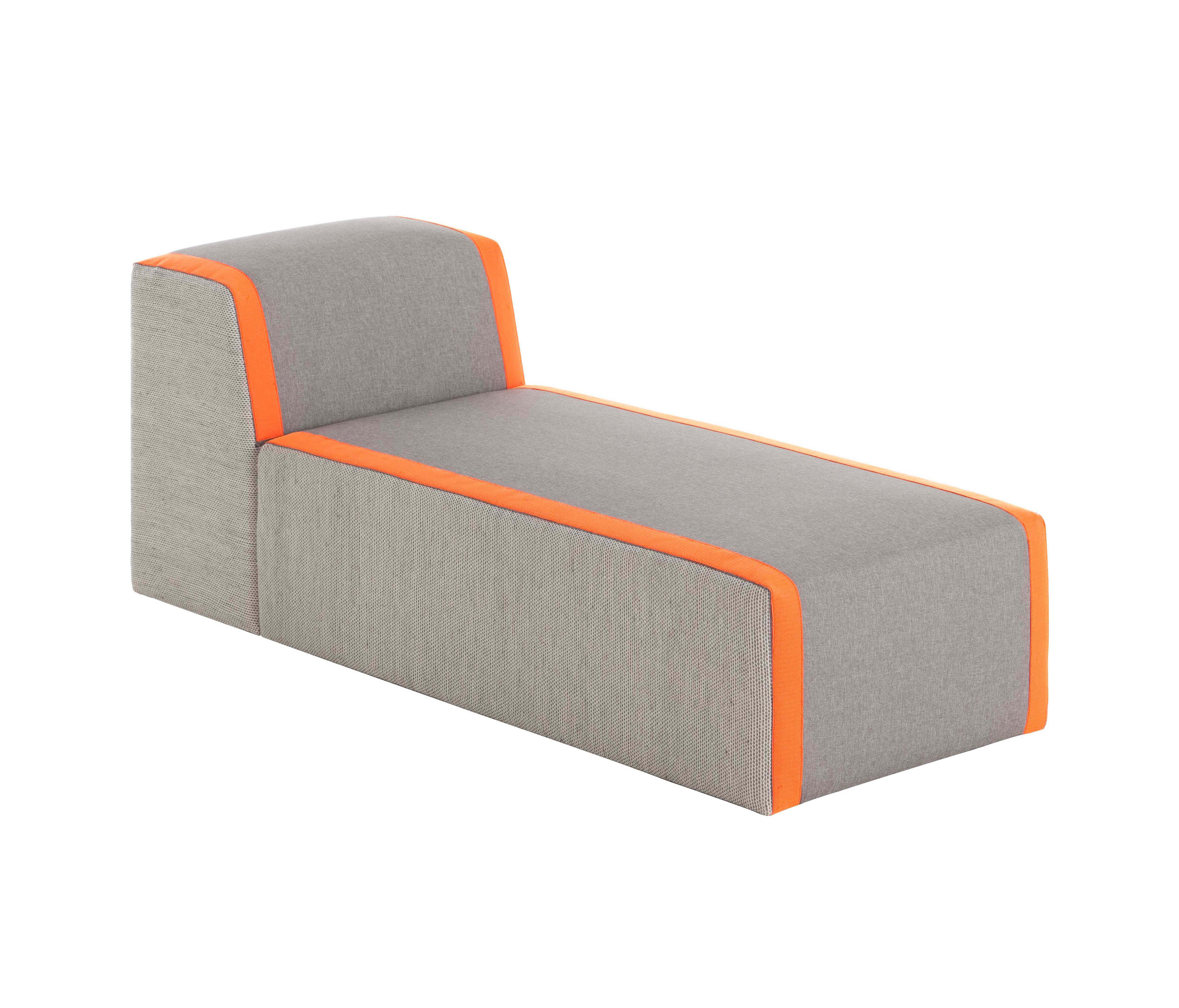 Bandas chaiselongue chaise longues from gan architonic for Chaise longue salon