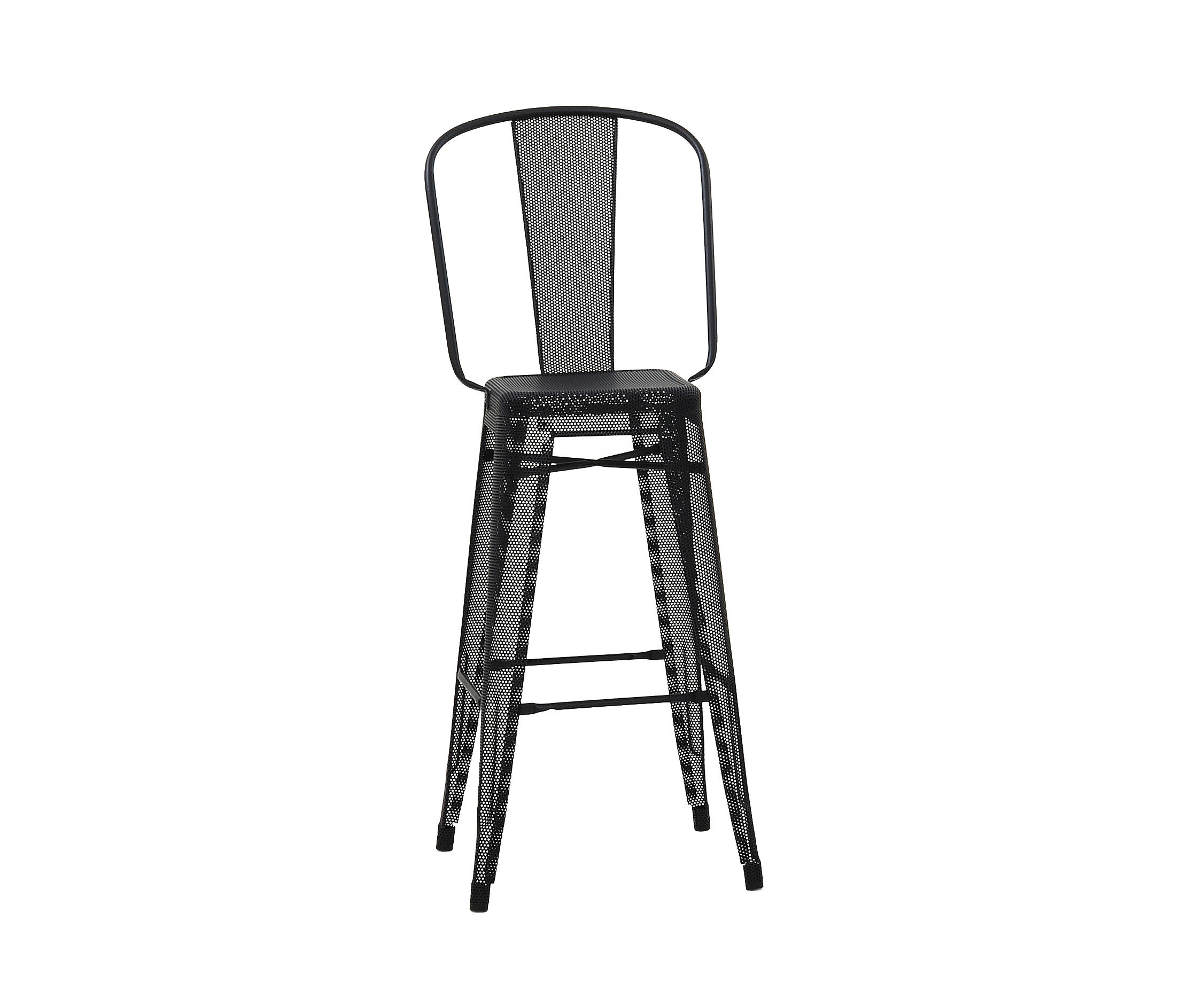 perforated hgd75 stool bar stools from tolix architonic. Black Bedroom Furniture Sets. Home Design Ideas