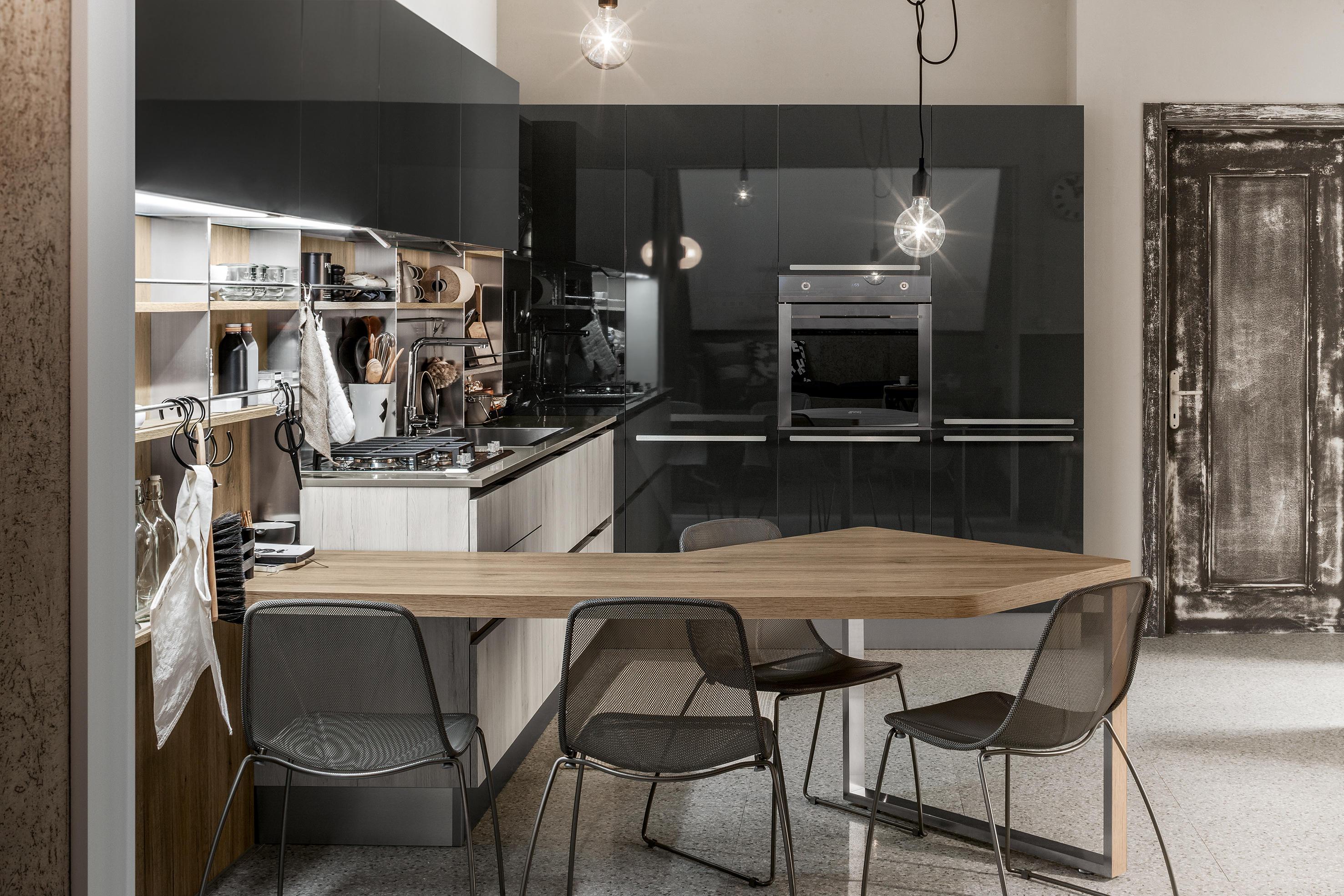 start time go cocinas integrales de veneta cucine architonic. Black Bedroom Furniture Sets. Home Design Ideas