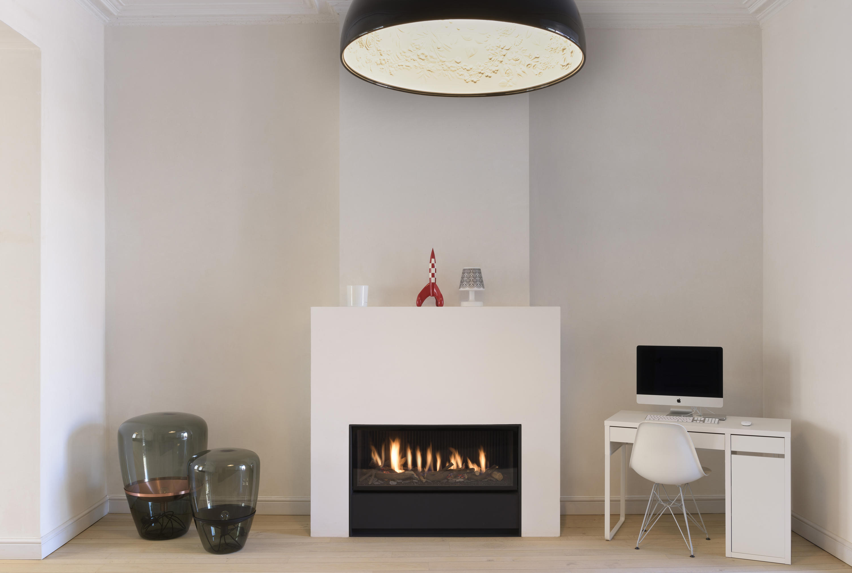 unique mf 1050 40 ghe 1s chemin es sans fum e gaz de. Black Bedroom Furniture Sets. Home Design Ideas
