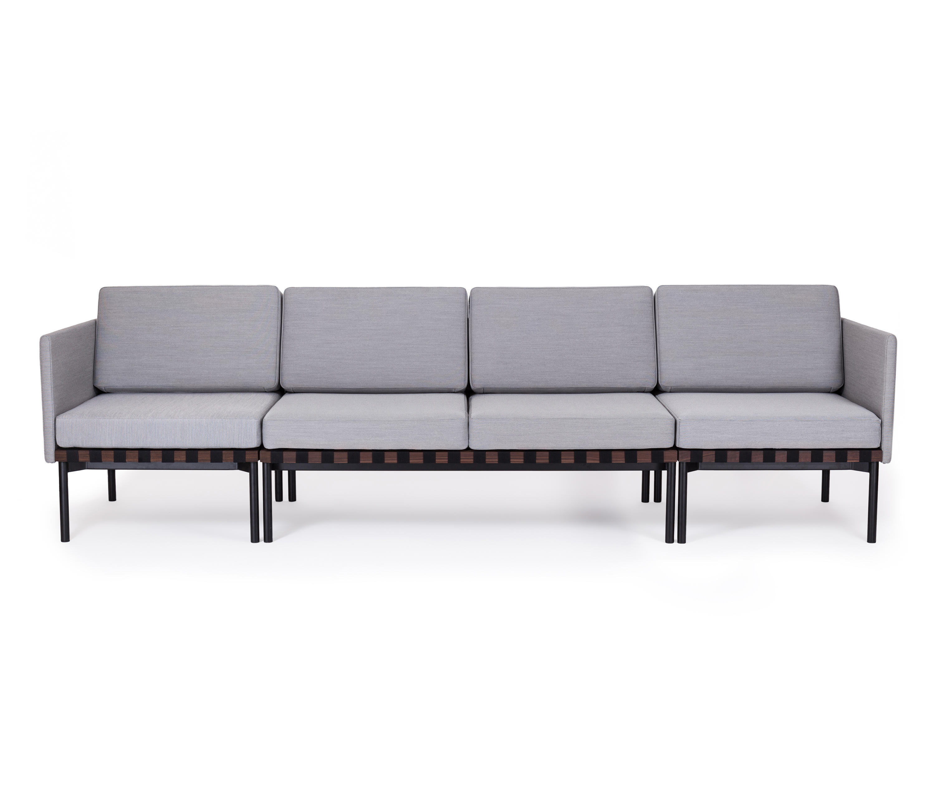 Grid sofa lounge sofas from petite friture architonic for Sofa modular gris