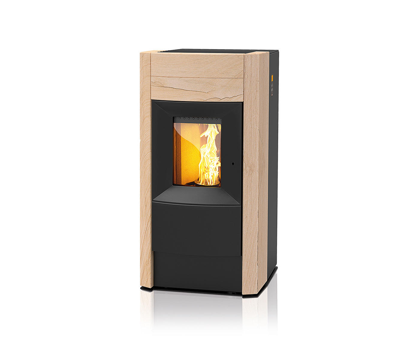 REVO | WITH SANDSTONE CASING - Stoves from Rika | Architonic