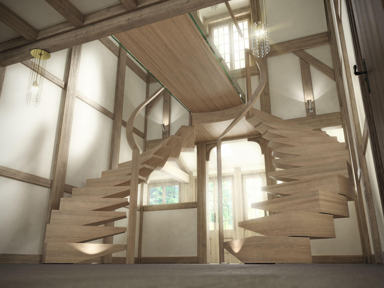 anaconda escaliers en bois de siller treppen architonic. Black Bedroom Furniture Sets. Home Design Ideas
