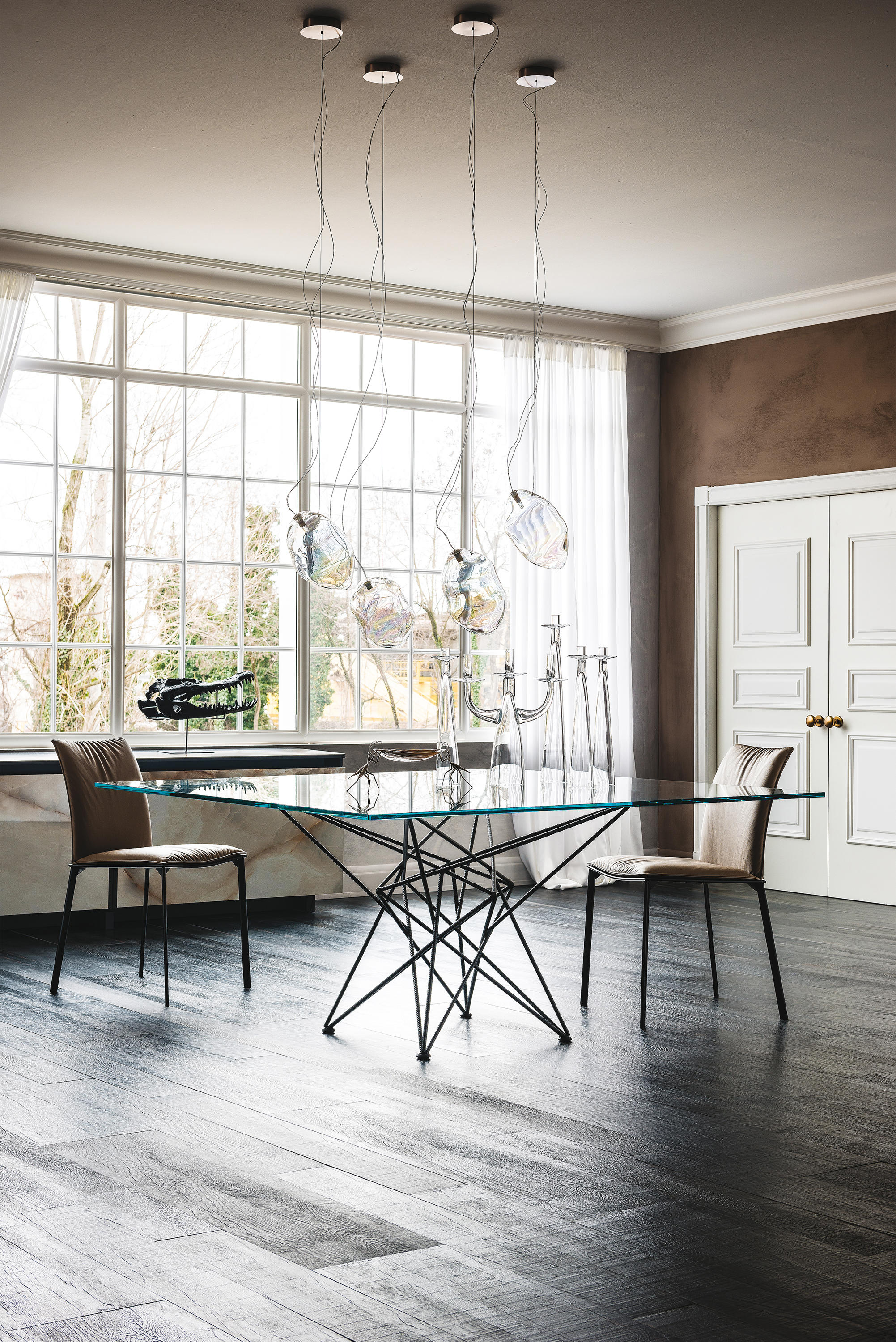 gordon dining tables from cattelan italia architonic. Black Bedroom Furniture Sets. Home Design Ideas