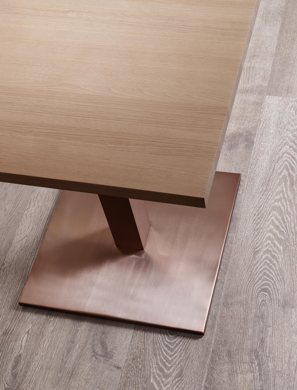 Square restaurant tables -  Square By Sistema Midi Restaurant Tables