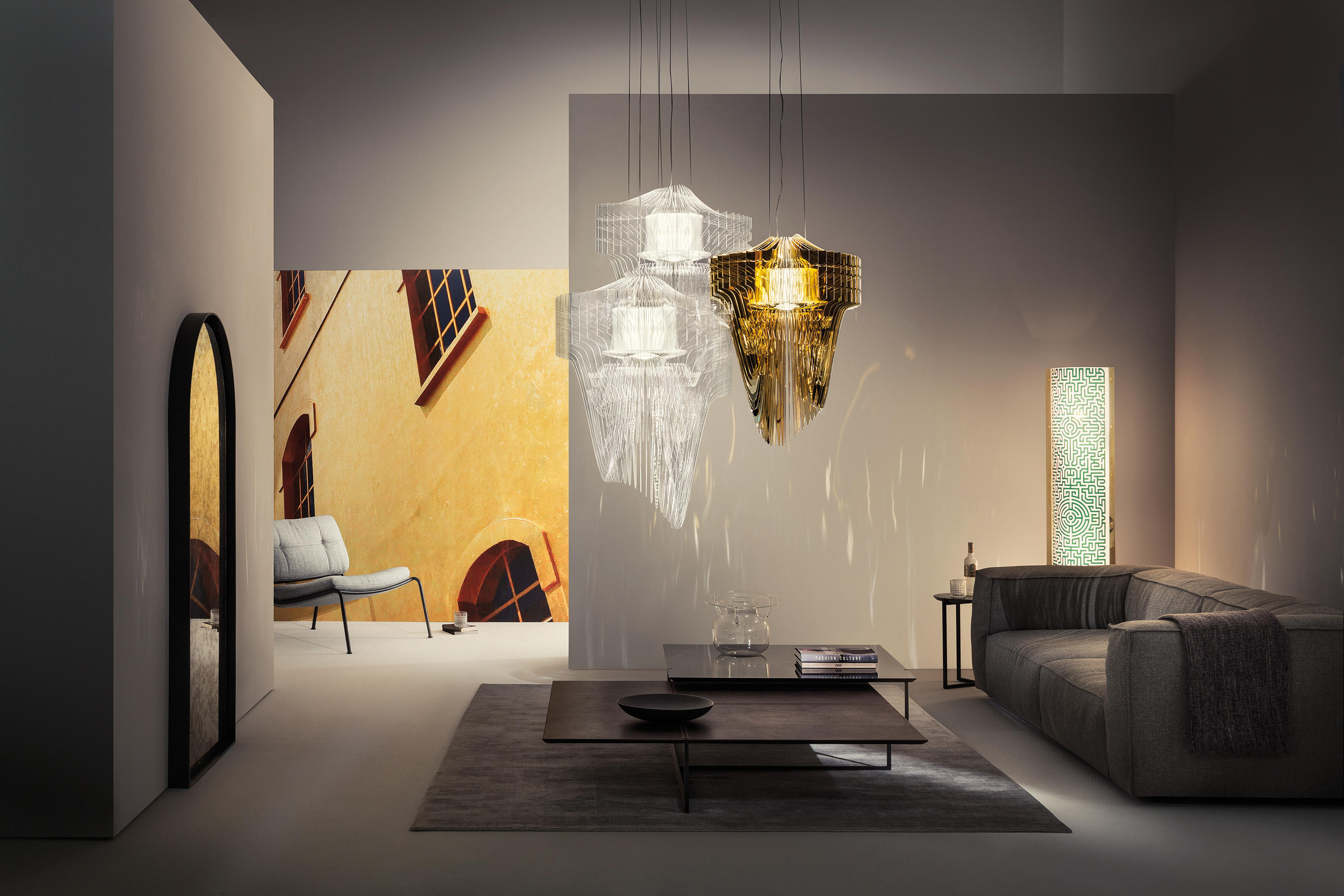Aria Gold Suspension Designer