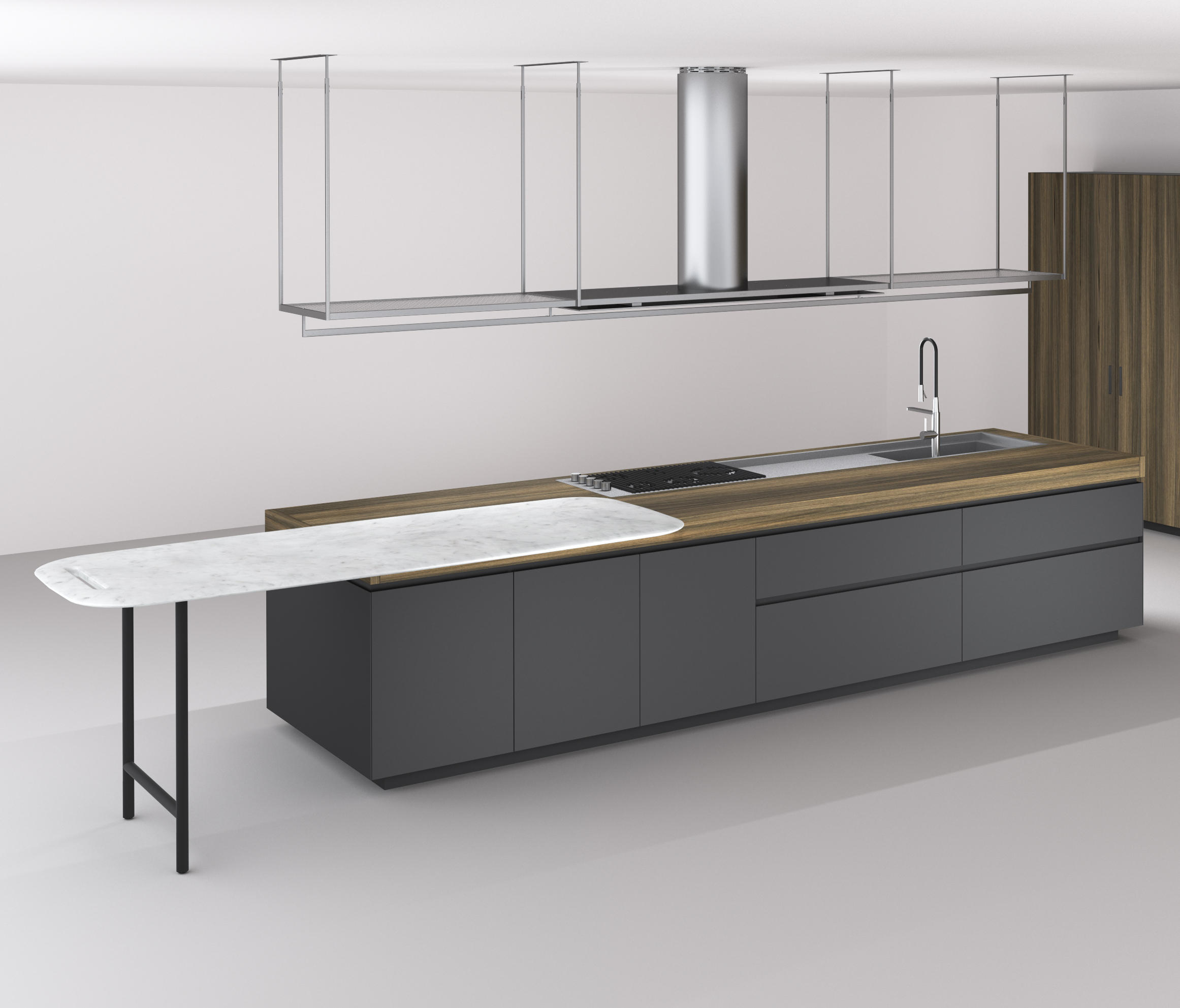 BOFFI_CODE KITCHEN - Island kitchens from Boffi | Architonic