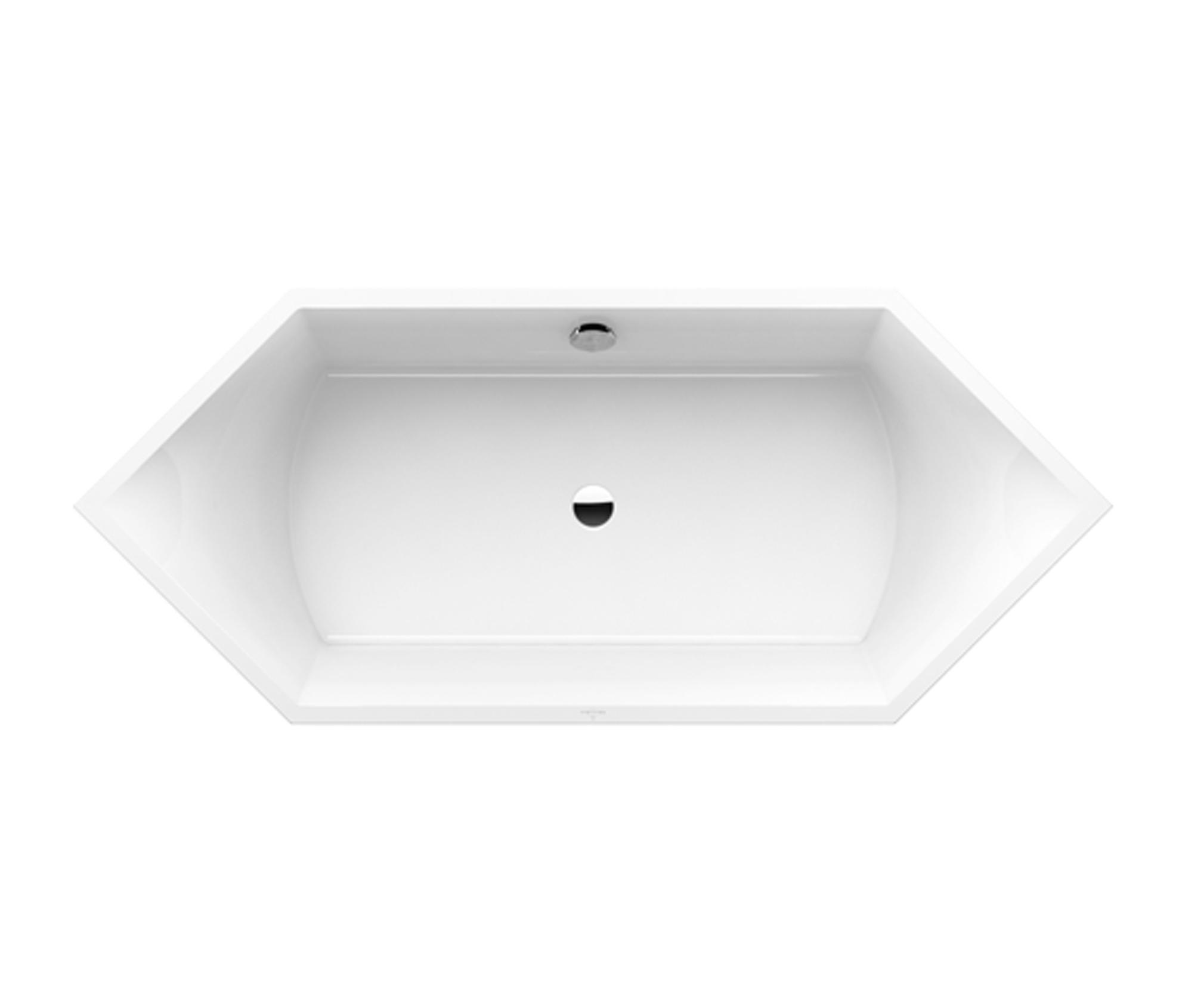 Squaro edge vasca da bagno vasche ad incasso villeroy boch architonic - Vasca da bagno villeroy e boch ...