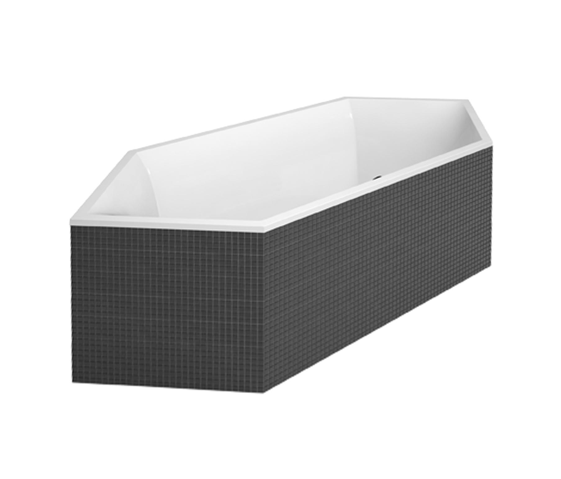Squaro edge vasca da bagno vasche ad incasso villeroy - Vasca da bagno villeroy e boch ...