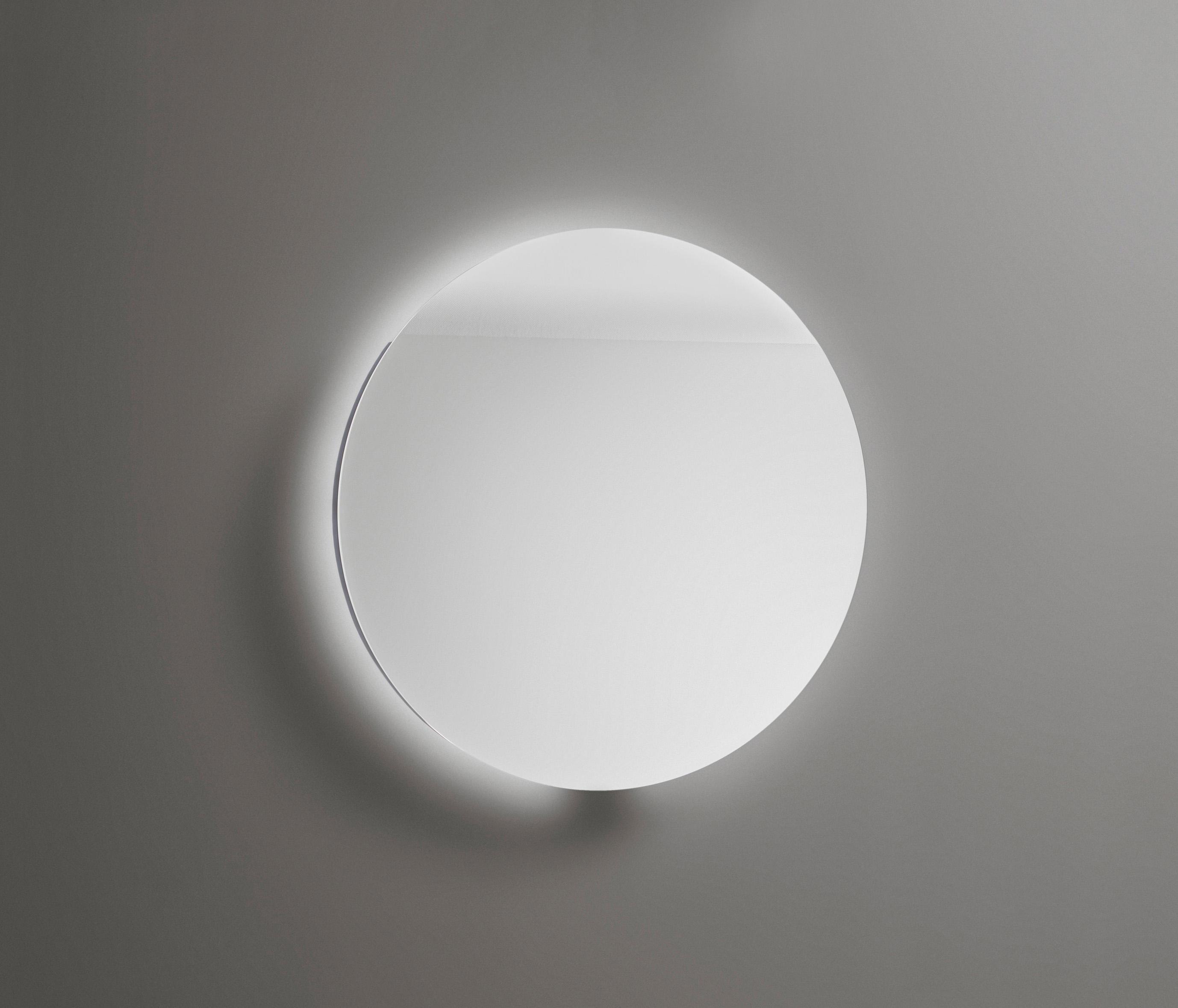 coco miroir avec contour avec clairage led et variateur de la temp rature de l 39 clairage. Black Bedroom Furniture Sets. Home Design Ideas