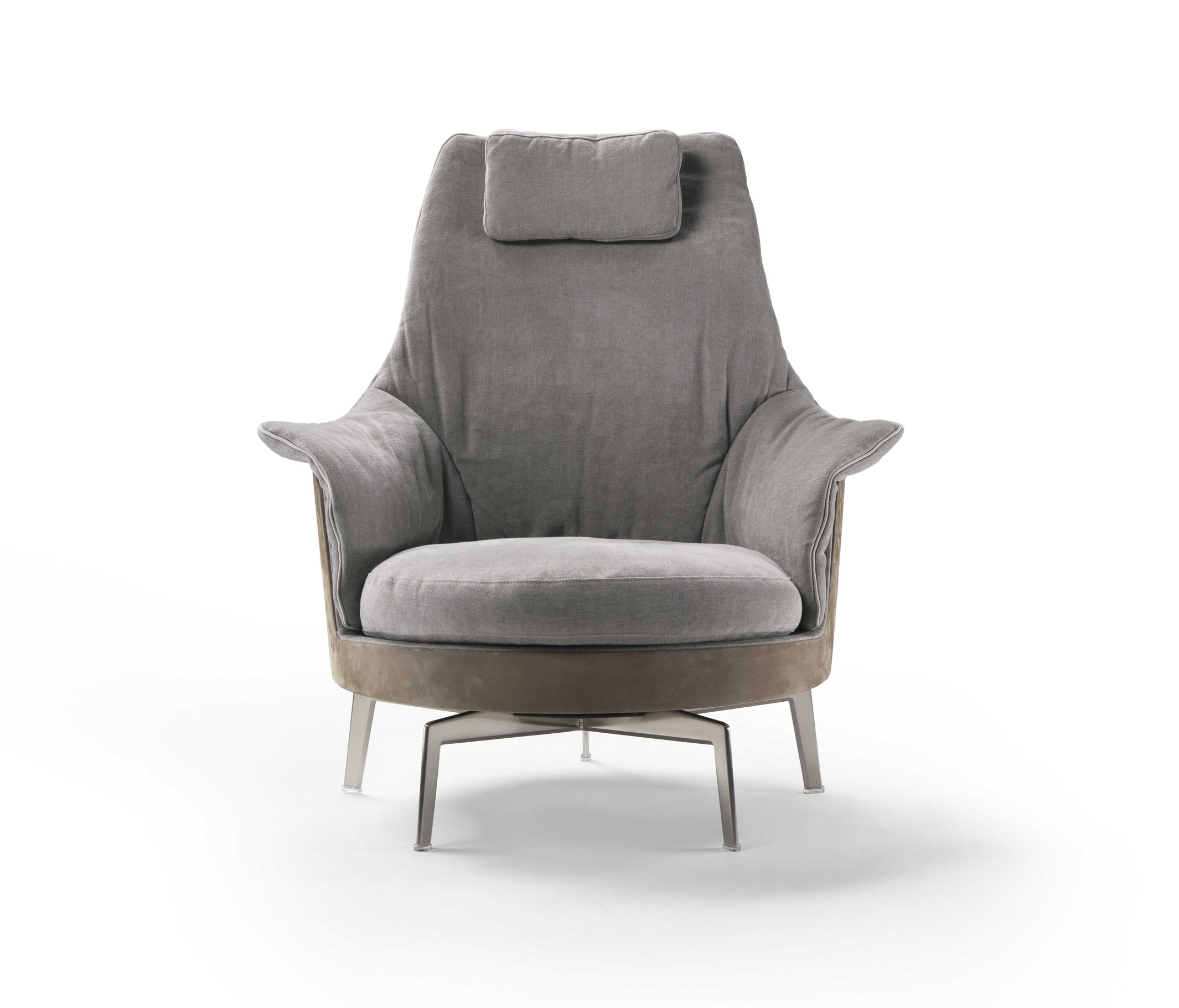 GUSCIOALTO LIGHT ARMCHAIR Lounge chairs from Flexform