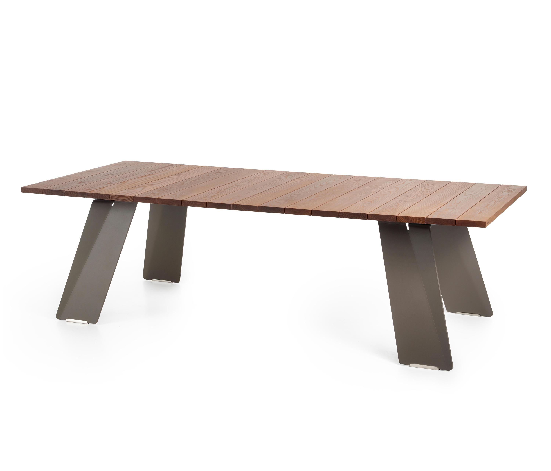 Ponts n 255 tavoli pranzo extremis architonic for Produttori tavoli