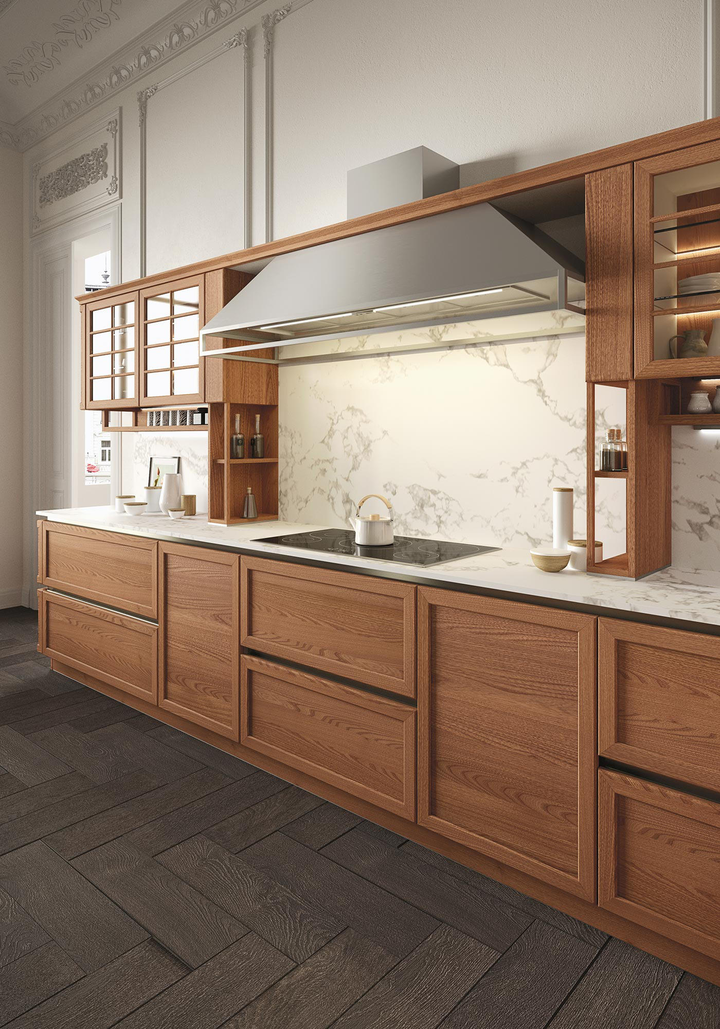 Heritage cucine a parete snaidero architonic - Cucine a parete ...