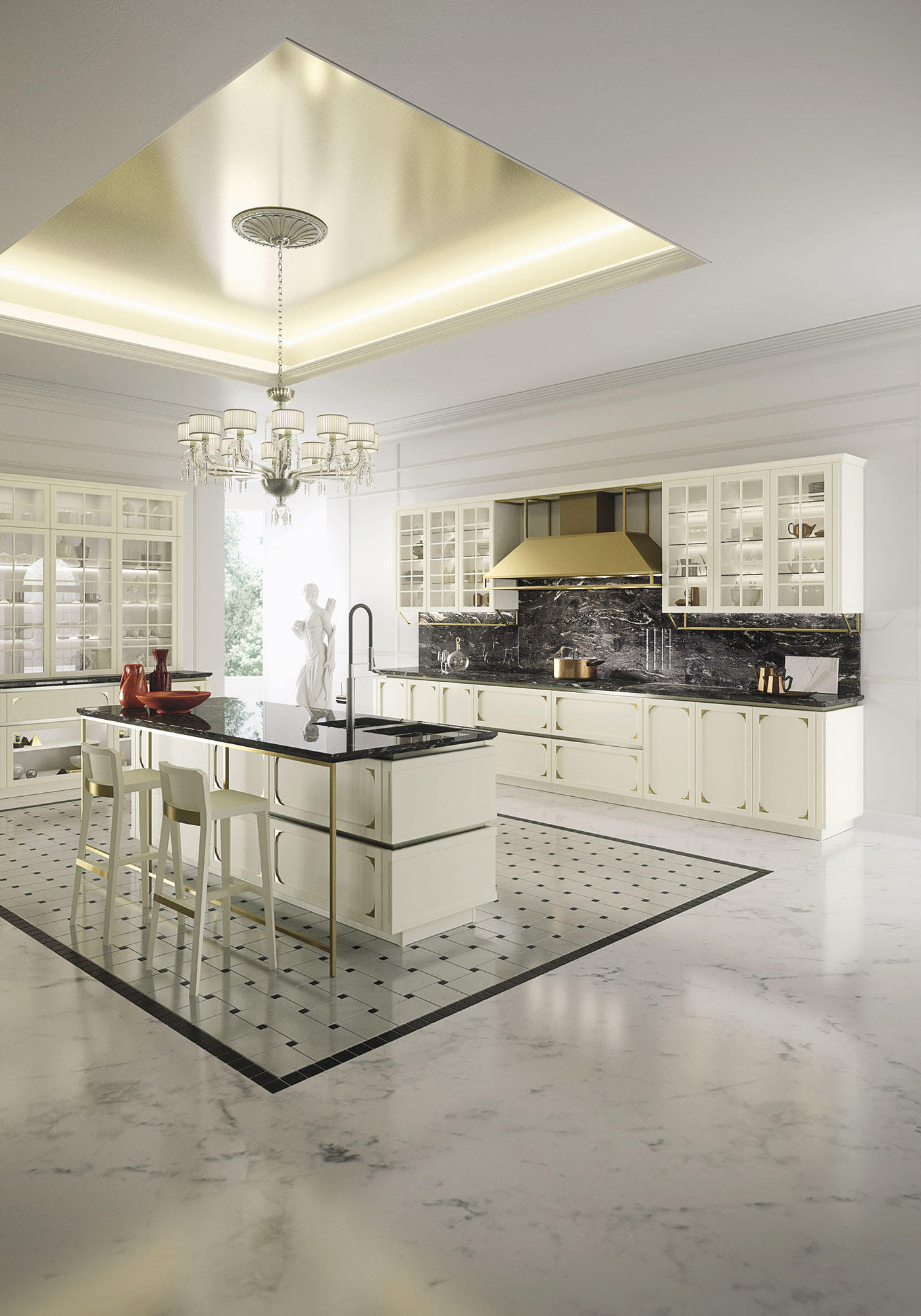 kelly cucine a isola snaidero architonic. Black Bedroom Furniture Sets. Home Design Ideas