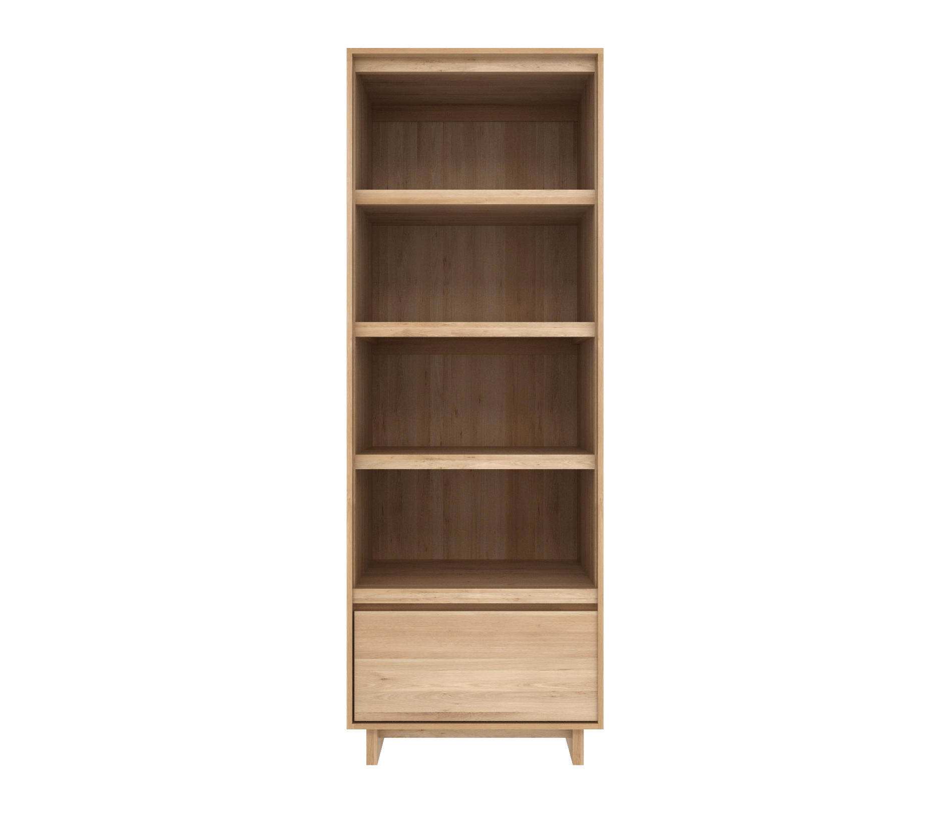 Oak Wave Book Rack Display Cabinets From Ethnicraft Architonic # Ethnicraft Meuble Tv