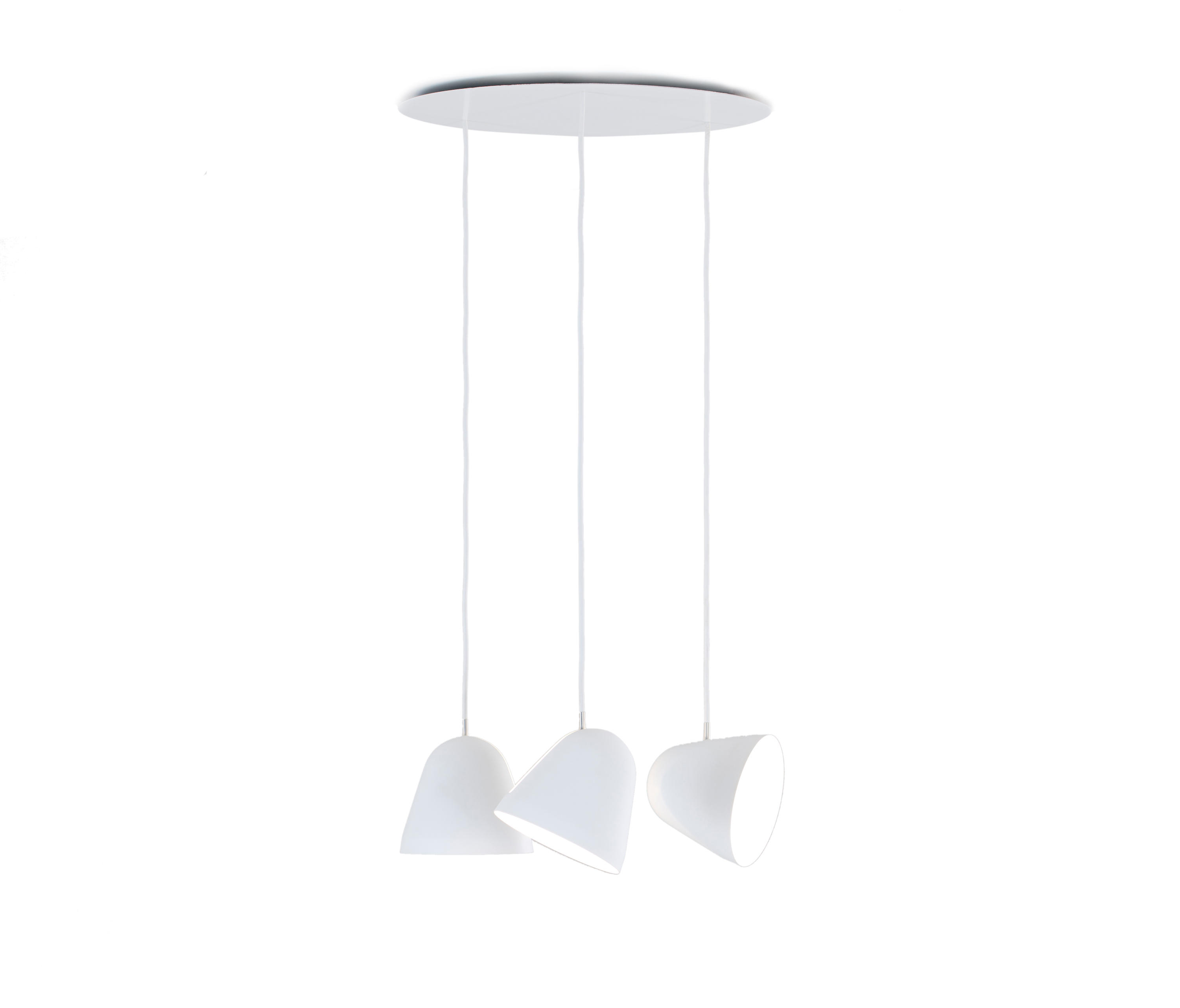 multiple pendant lamp 3 suspended lights from nyta architonic