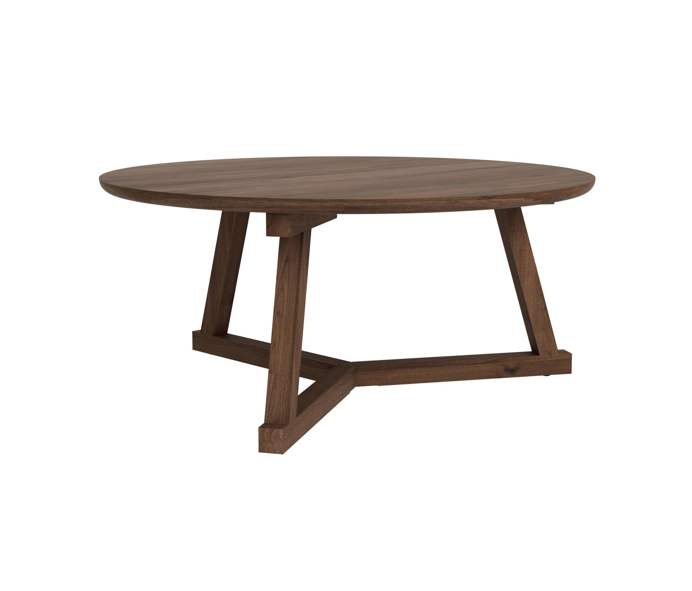 WALNUT TRIPOD COFFEE TABLE - Tables basses de Ethnicraft | Architonic