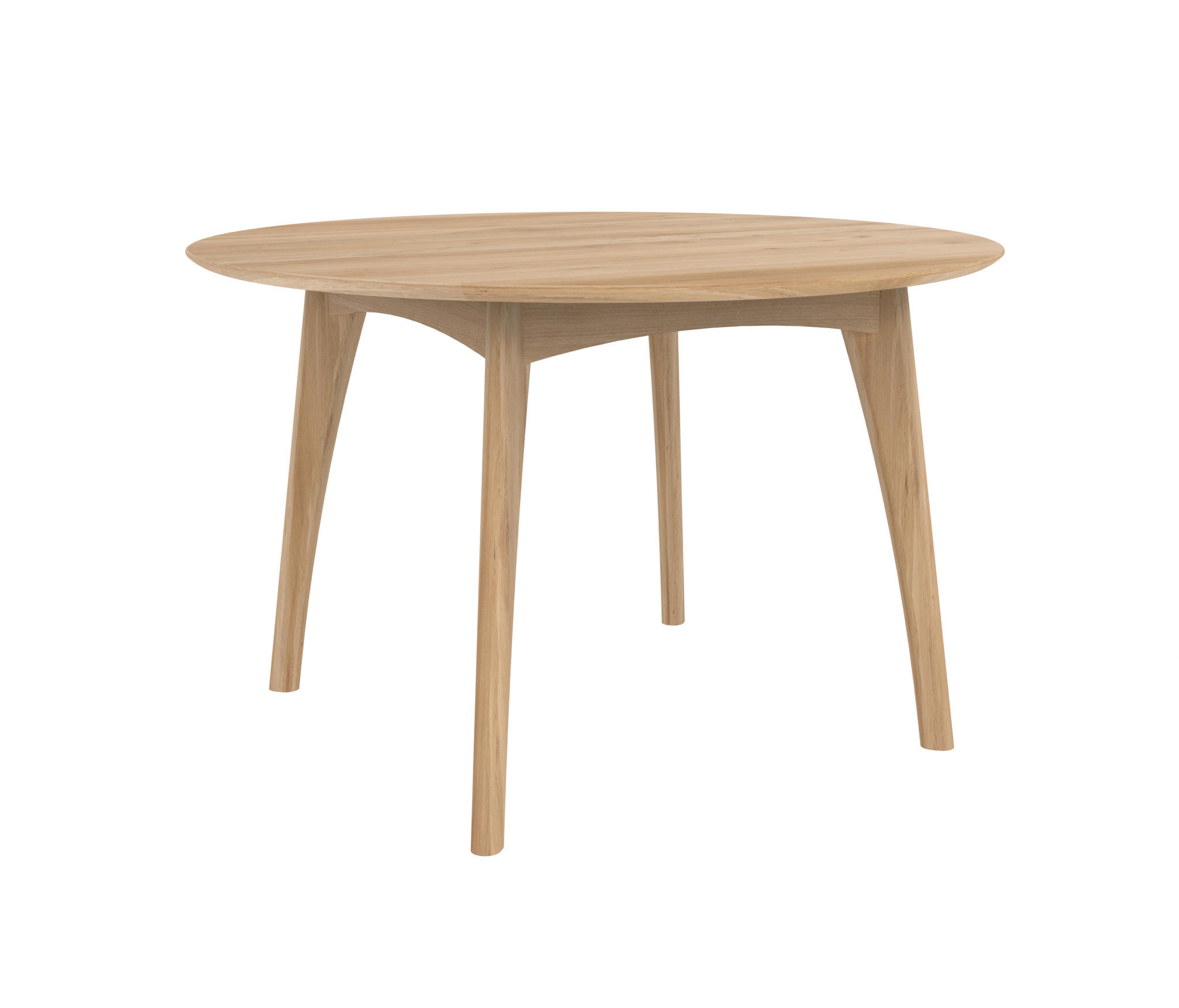 OAK OSSO ROUND DINING TABLE Restaurant tables from Ethnicraft