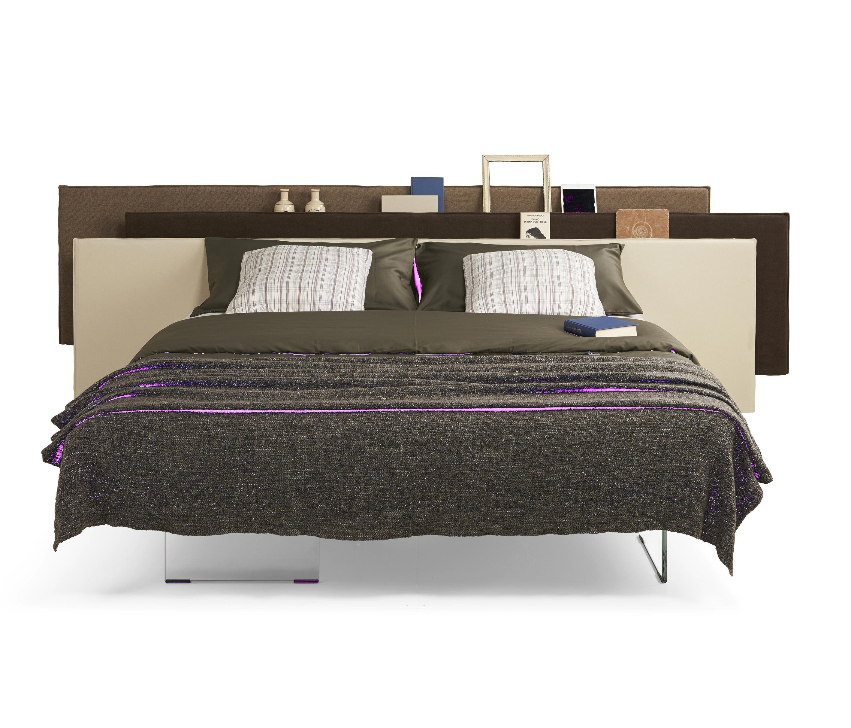 Vele bed camas dobles de lago architonic for Letto lago vele