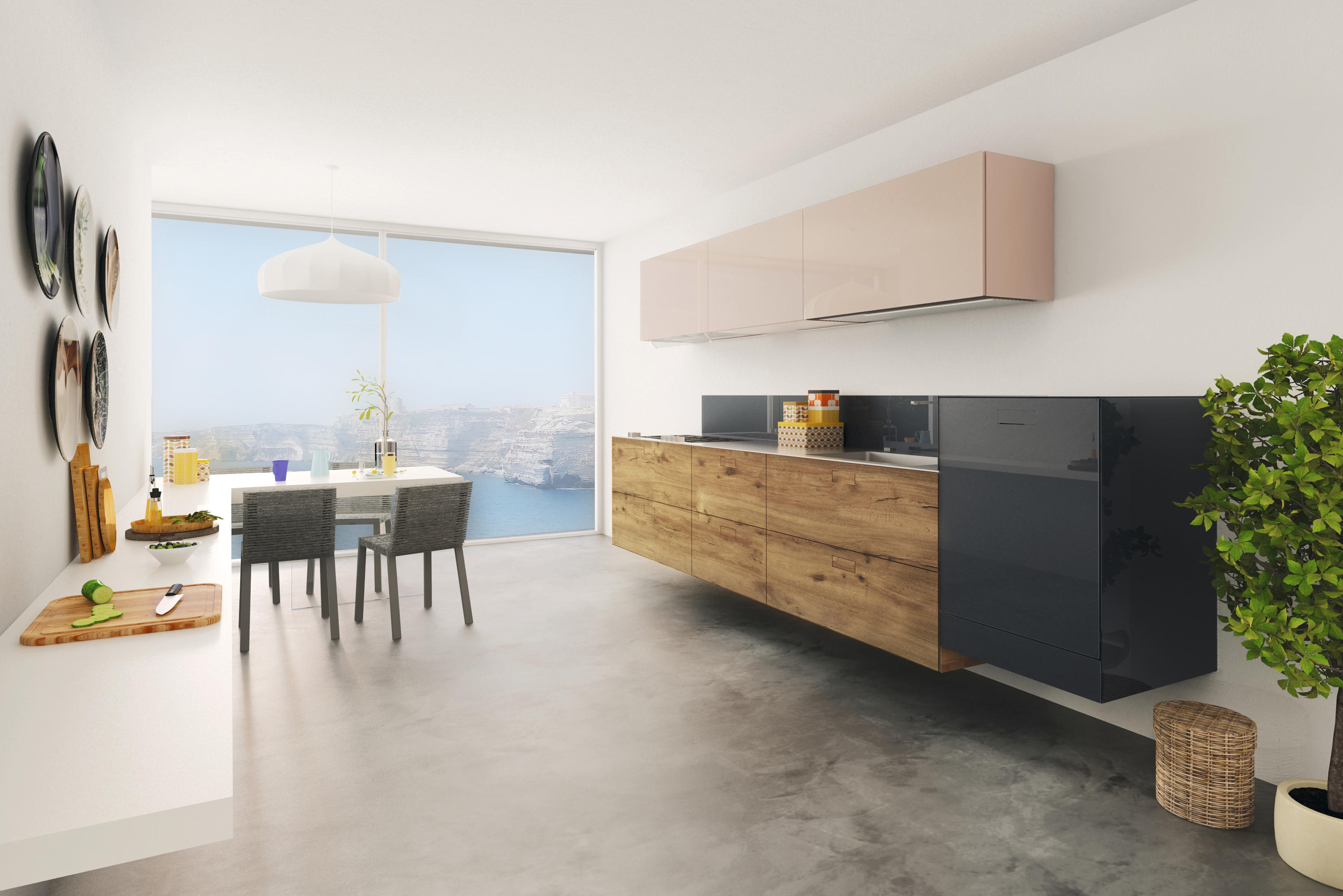36E8_KITCHEN_WILDWOOD - Cucine parete LAGO | Architonic