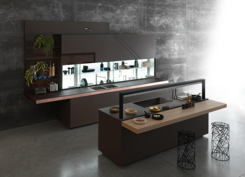 Parete cucina vetro trendy soluzione scorrevole esterno parete