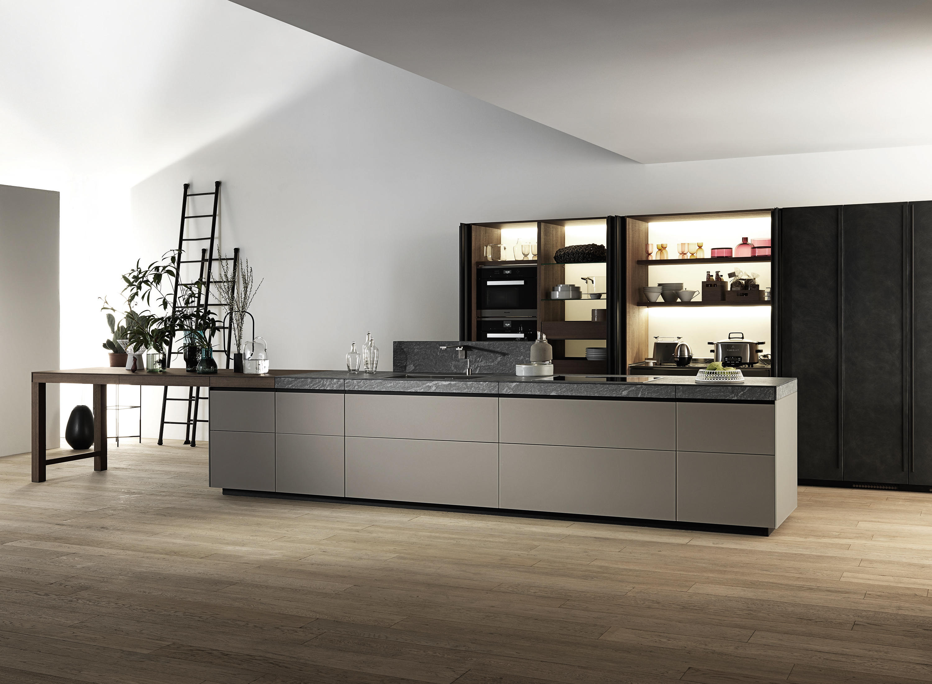 Genius Loci Fitted Kitchens From Valcucine Architonic