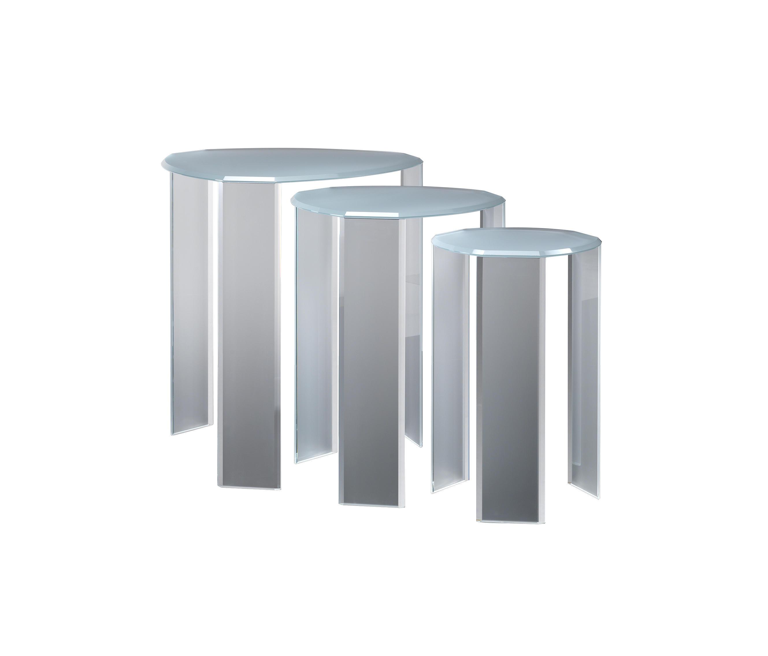 Tris 55 tavolini di servizio reflex architonic - Tris di tavolini ...