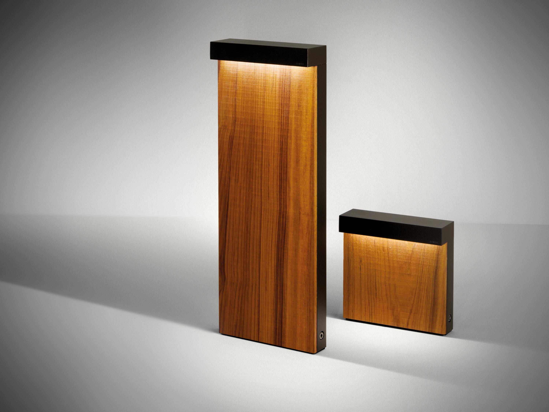 Look wood minilook bollard h 580mm single emission path lights