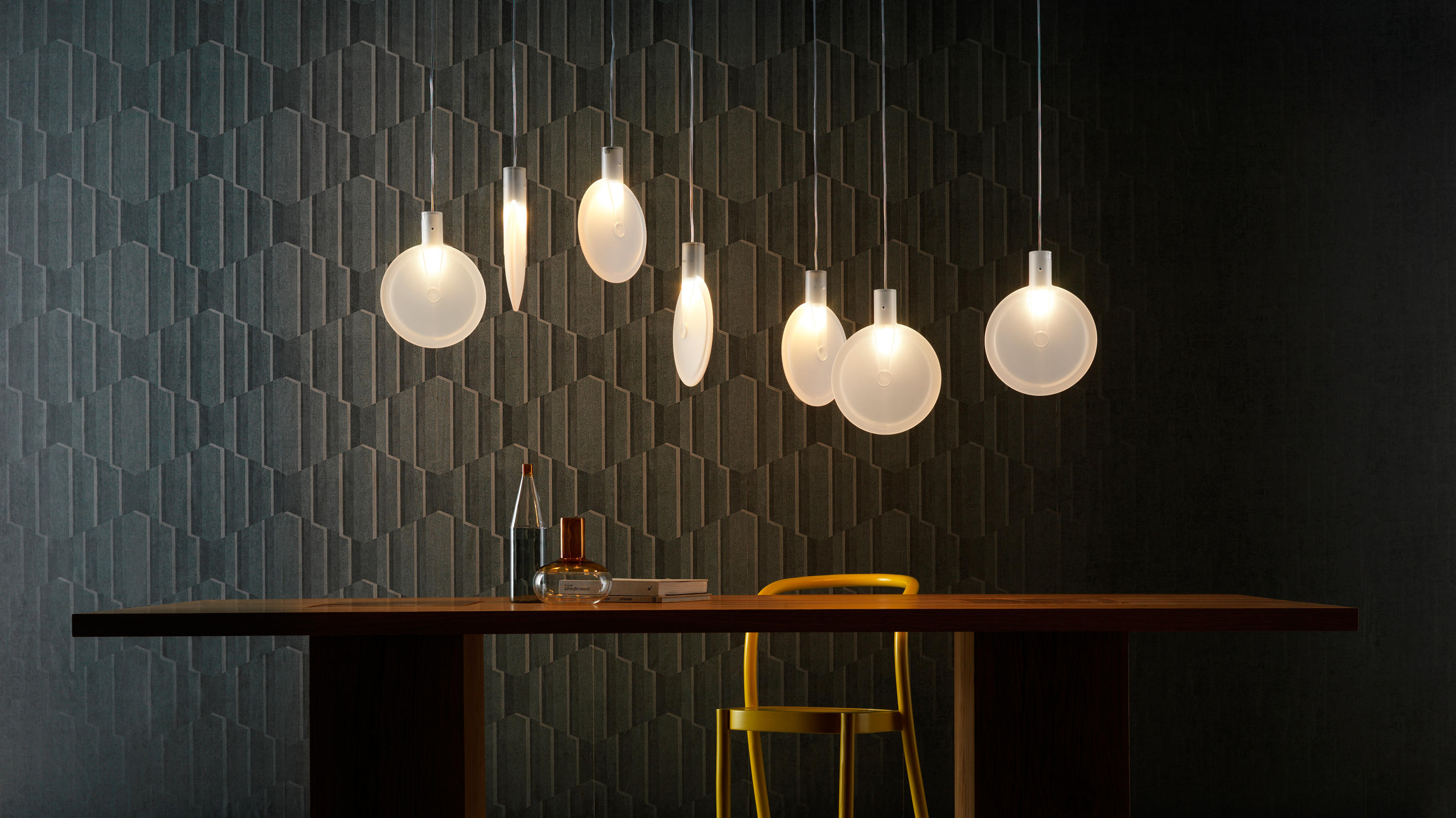NEBRA SUSPENSION LAMP - General lighting from FontanaArte | Architonic