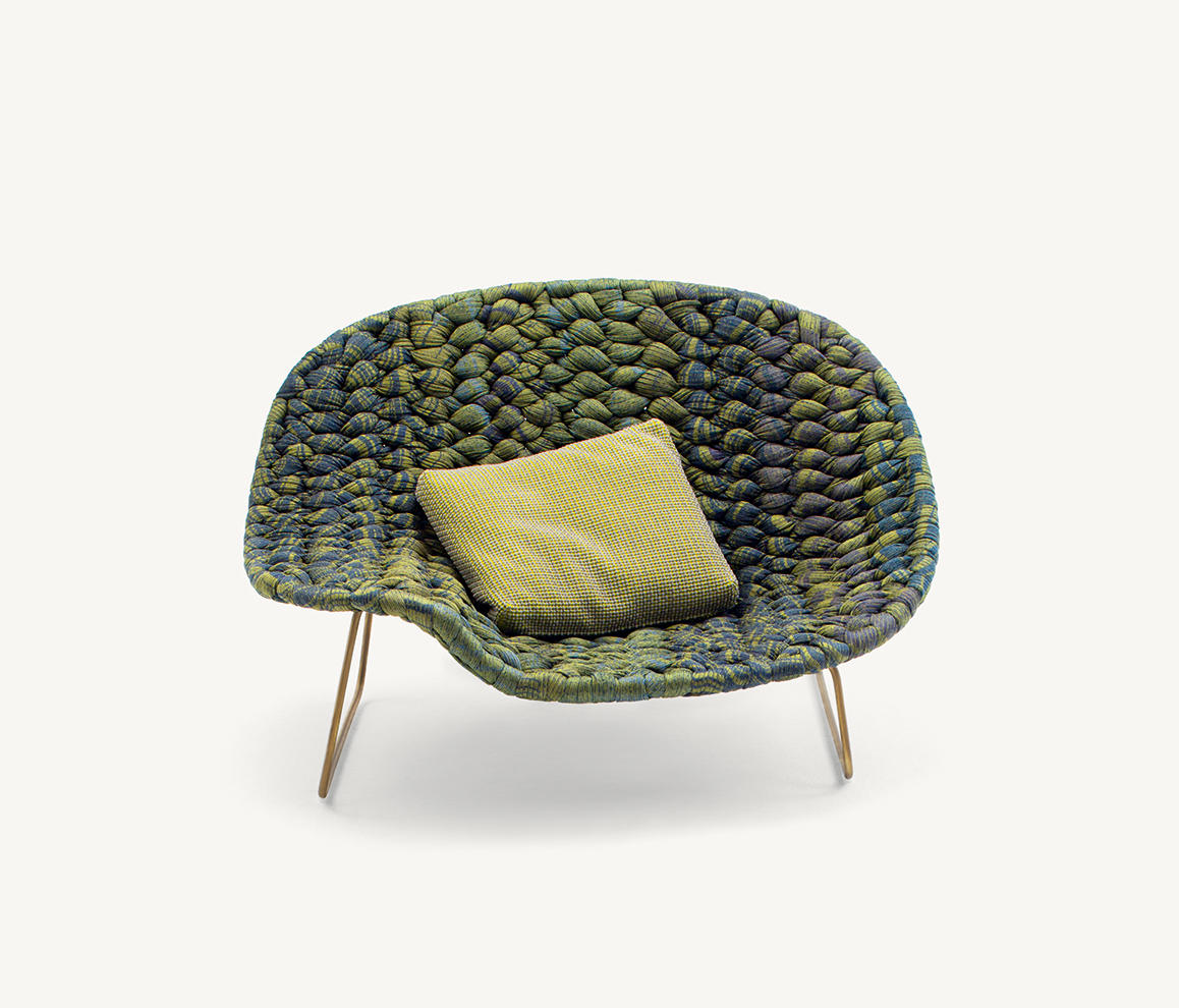 shito armchairs from paola lenti architonic. Black Bedroom Furniture Sets. Home Design Ideas