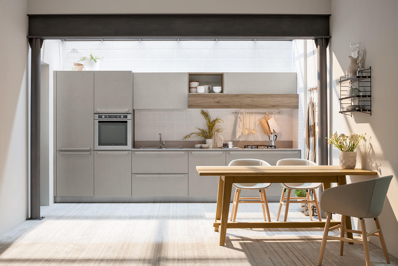 Start time cucine a parete veneta cucine architonic - Cucine a parete ...