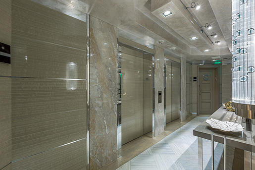 Luxury Decorative Surface For Elevator Lobby Kinon
