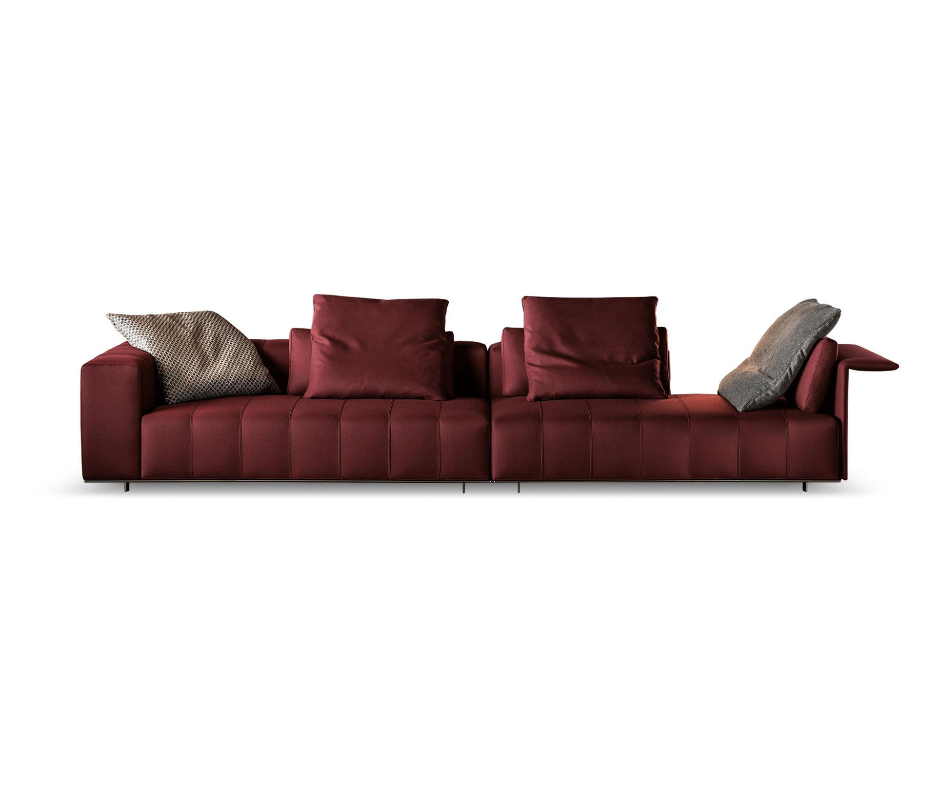 Freeman tailor sofa lounge sofas from minotti architonic - Divano minotti prezzo ...