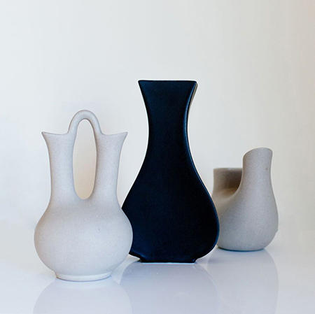 Custom Pottery Vases From Leslie Ann Wigon Art Design Architonic