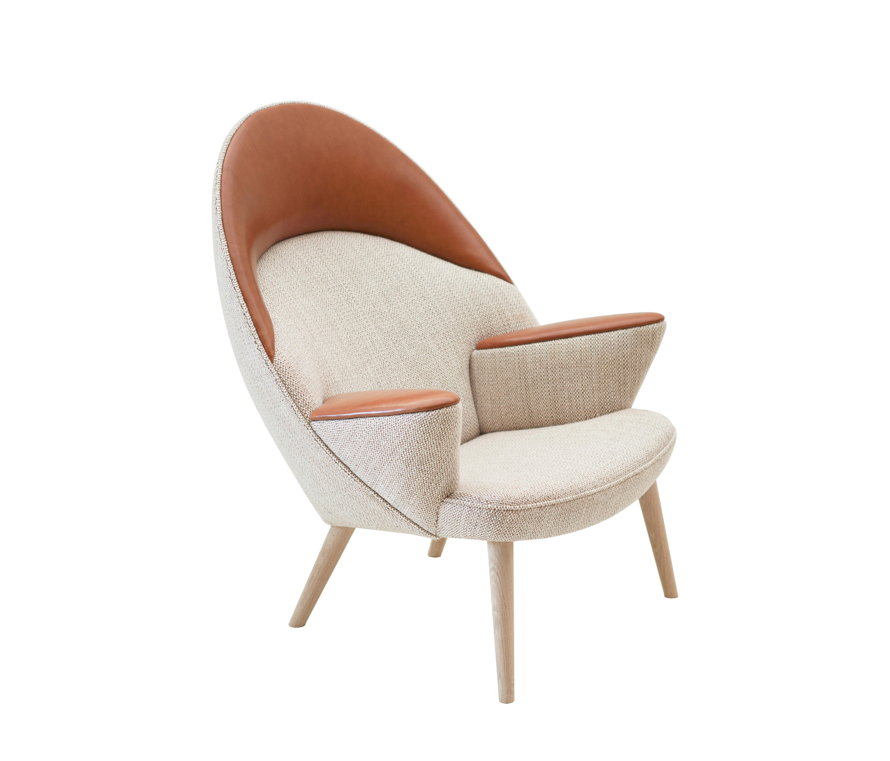 Beau Pp521 | Upholstered Peacock Chair By PP Møbler | Armchairs ...