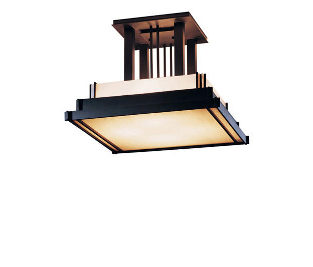 steppe large semi flush ceiling lights from hubbardton forge