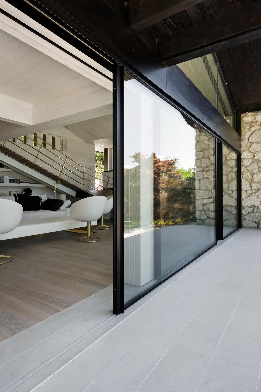 th schwellenfreier boden bergang terrassent ren von. Black Bedroom Furniture Sets. Home Design Ideas