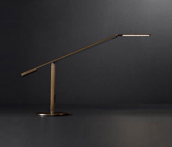 Equo led task table lamp table lights from rh contract architonic equo led task table lamp by rh contract table lights mozeypictures Images