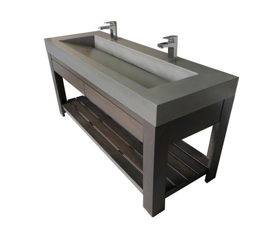 Lavare 60 Vallum Concrete Sink With