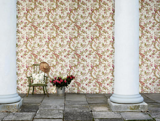 Chintz Wall Coverings Wallpapers From Zoffany Architonic